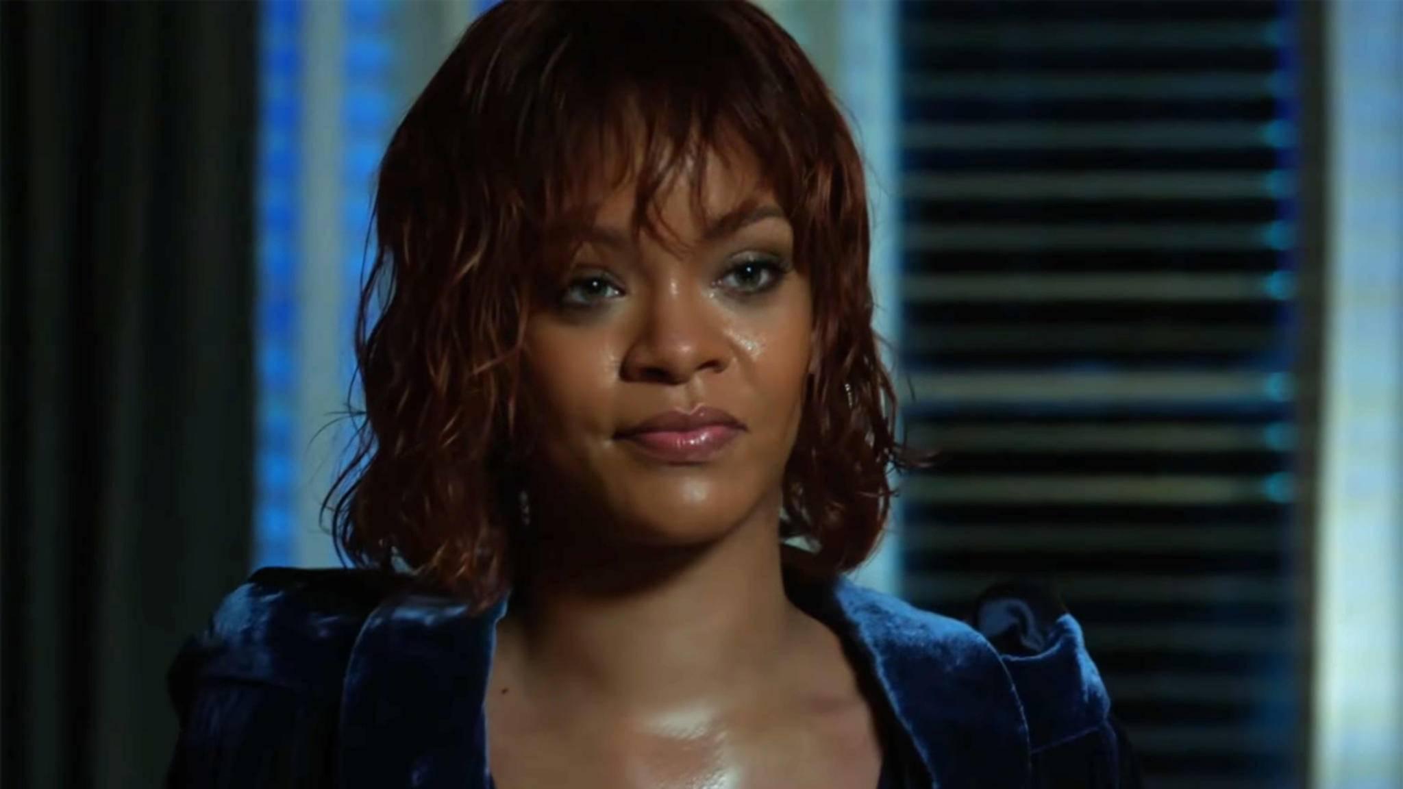 """Rihanna sollte sich in ihrer Rolle als Marion Crane in """"Bates Motel"""" besser von der Dusche fernhalten."""