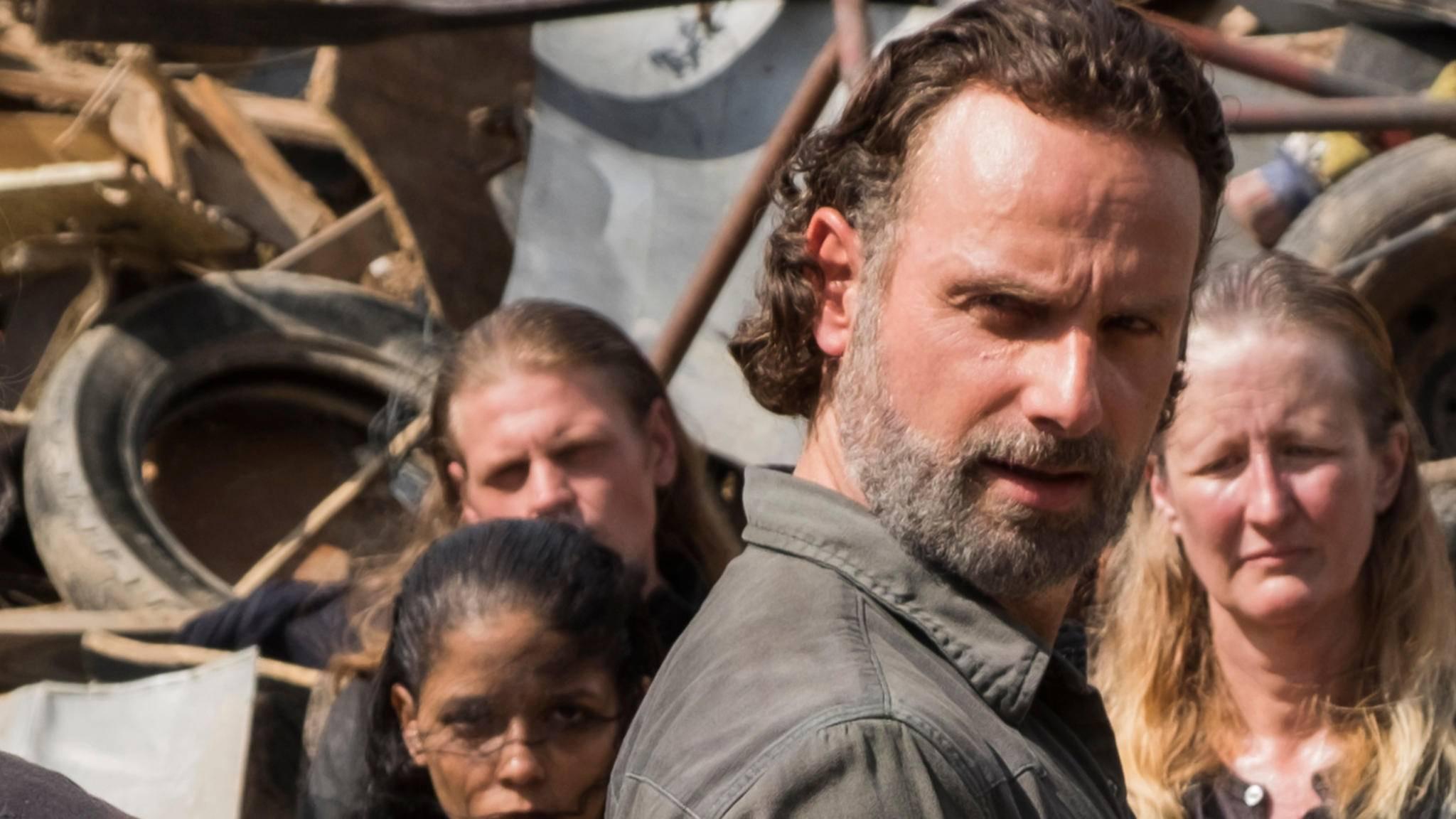 """""""The Walking Dead"""": Werden wir Rick bald wieder lächeln sehen?"""