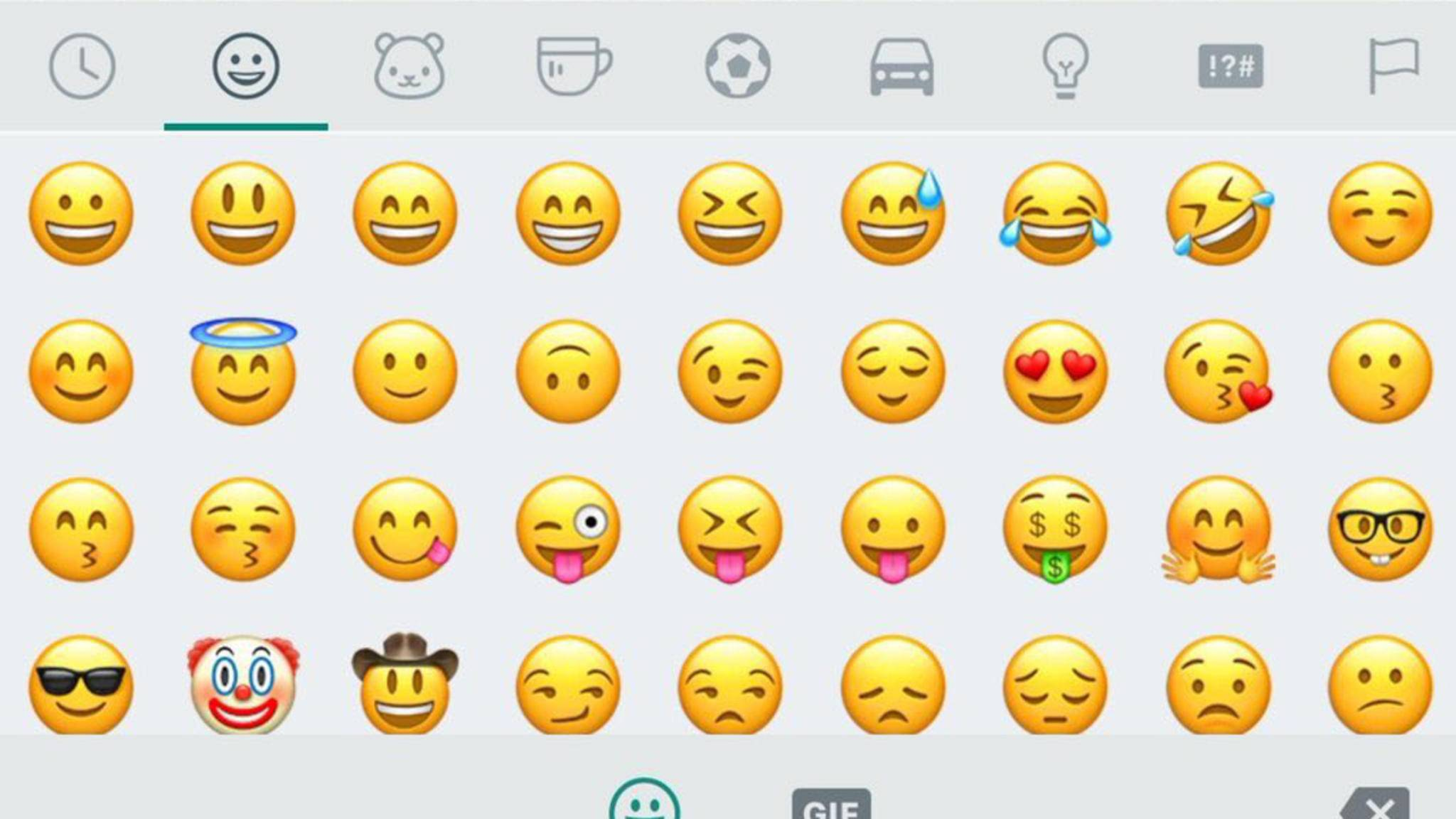 emoji bedeutung whatsapp