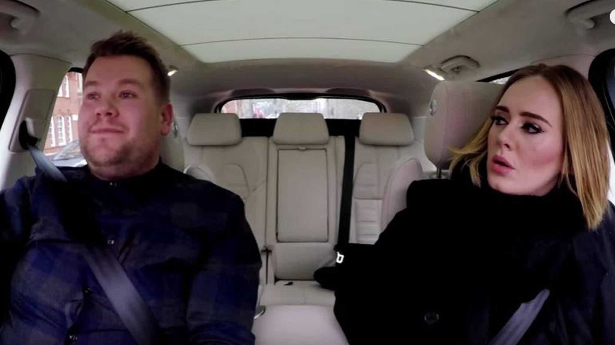 """James Corden machte """"Carpool Karaoke"""" zum Kult."""