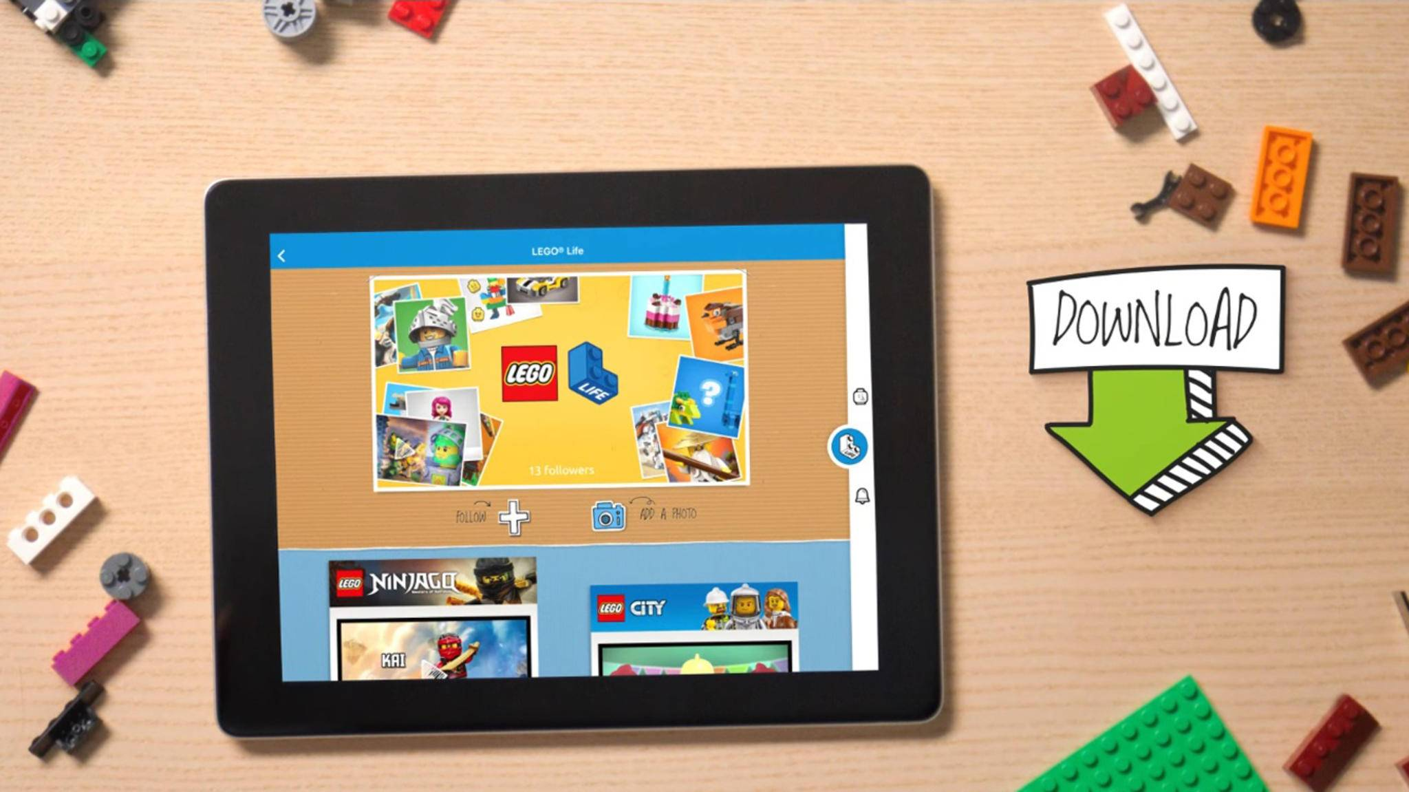 Die App Lego Life bietet einen anonymen Bilderaustausch.