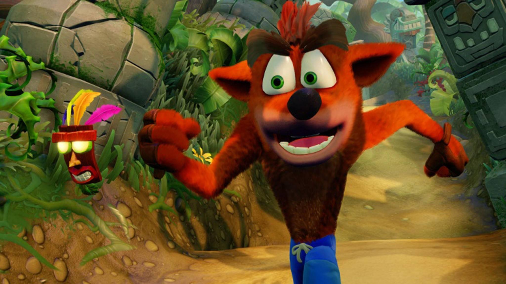 """""""Crash Bandicoot"""" kann auch in der aufgehübschten Neuauflage ganz schön schwierig sein."""