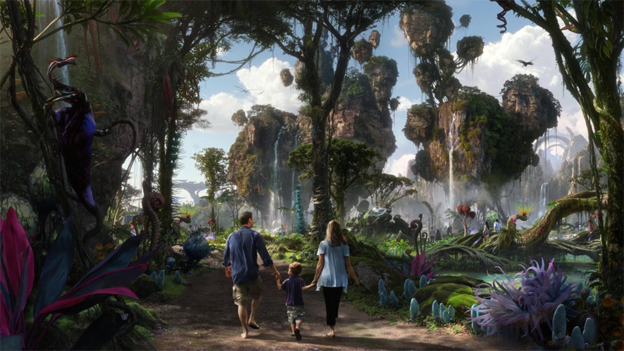 Besucher können Pandora ab Mai hautnah erleben.