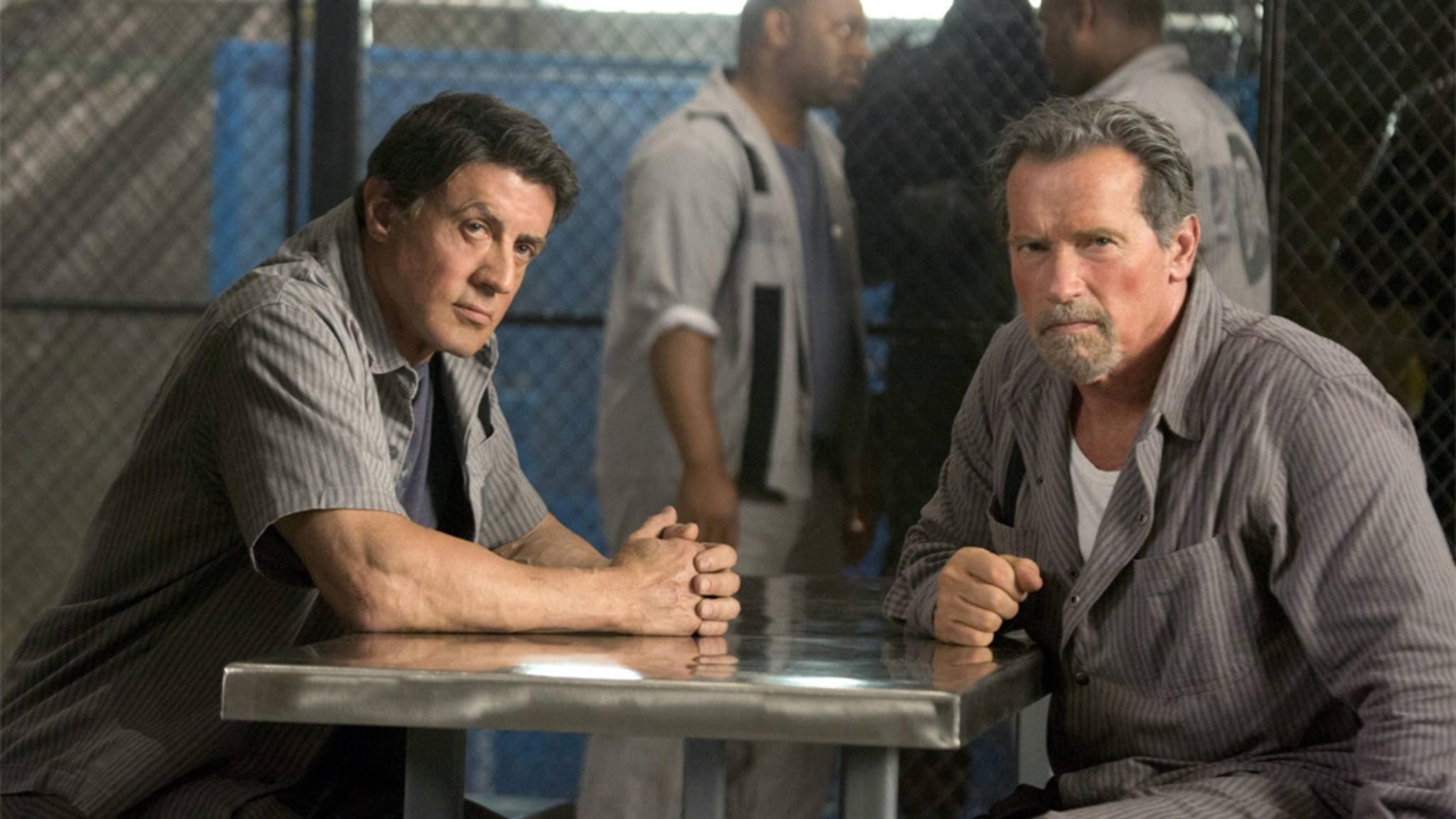 """Mit oder ohne Schwarzenegger: Sylvester Stallone ist bei """"Escape Plan 2"""" mit an Bord."""