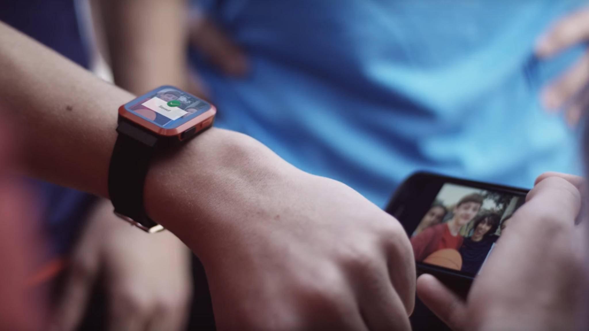 Gameband ist eine Smartwatch speziell für Spieler.