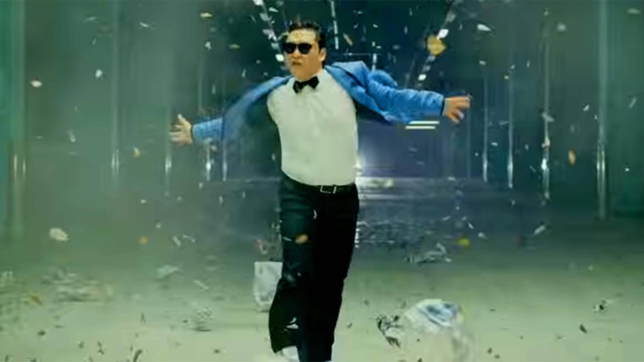 """Der südkoreanische Popstar Psy steht mit seinem """"Gangnam Style"""" bis heute an der Spitze der Aufruf-Charts von YouTube."""
