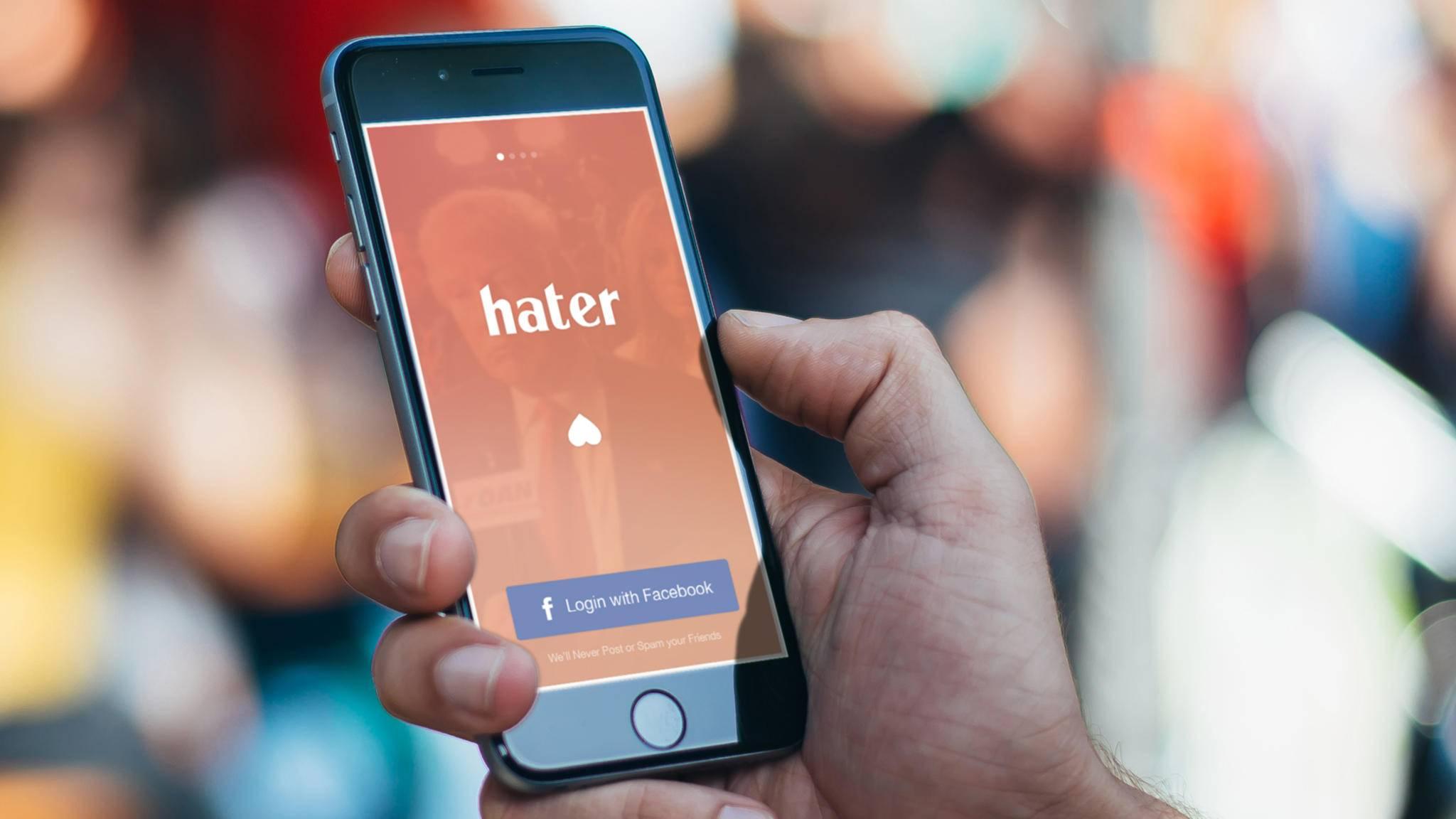 Ungewöhnliches Konzept: Die Dating-App Hater verbindet über Abneigungen.