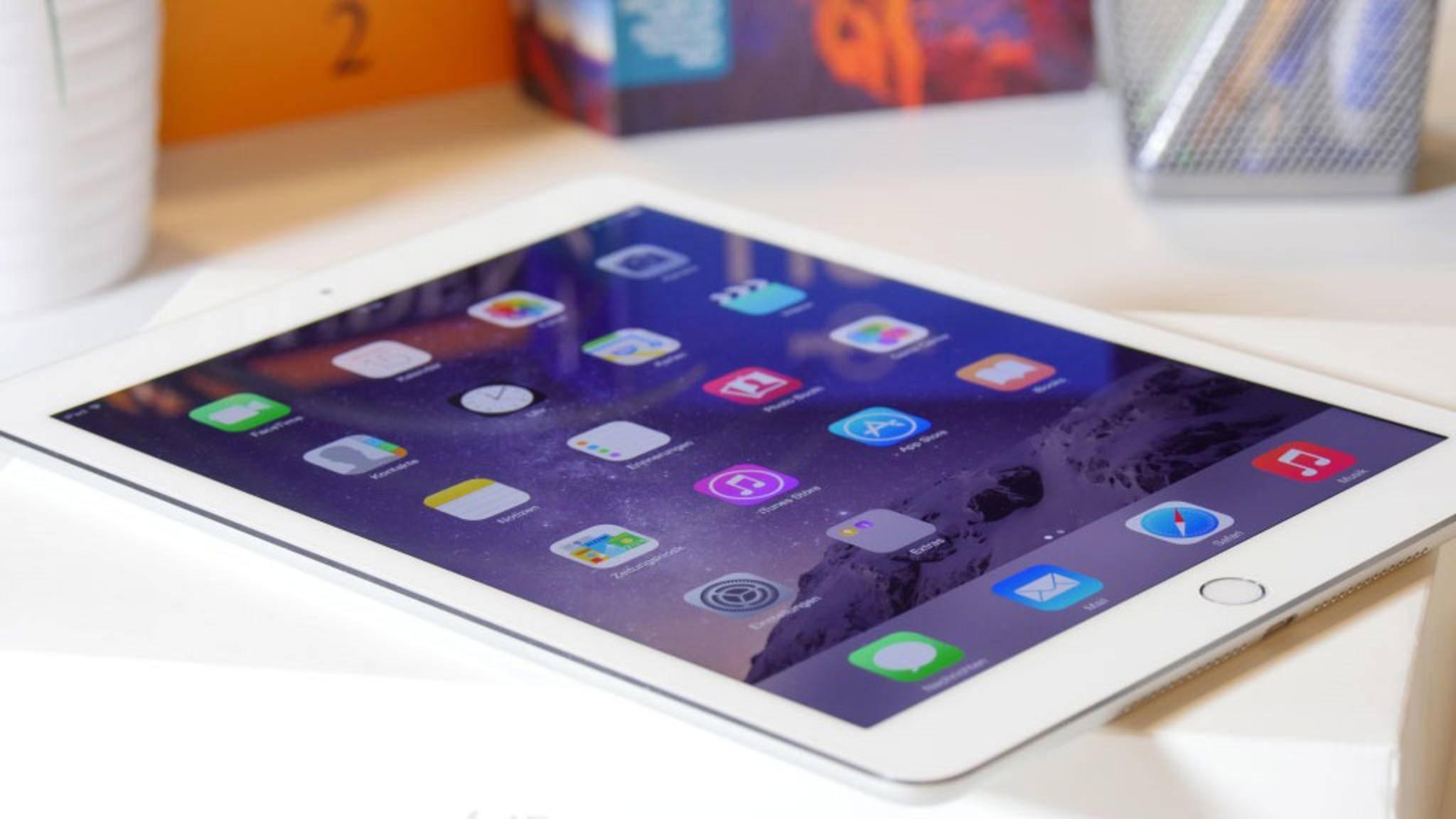 Unter den neuen iPads soll sich ein Einsteigermodell in der Größe des iPad Air 2 befinden.
