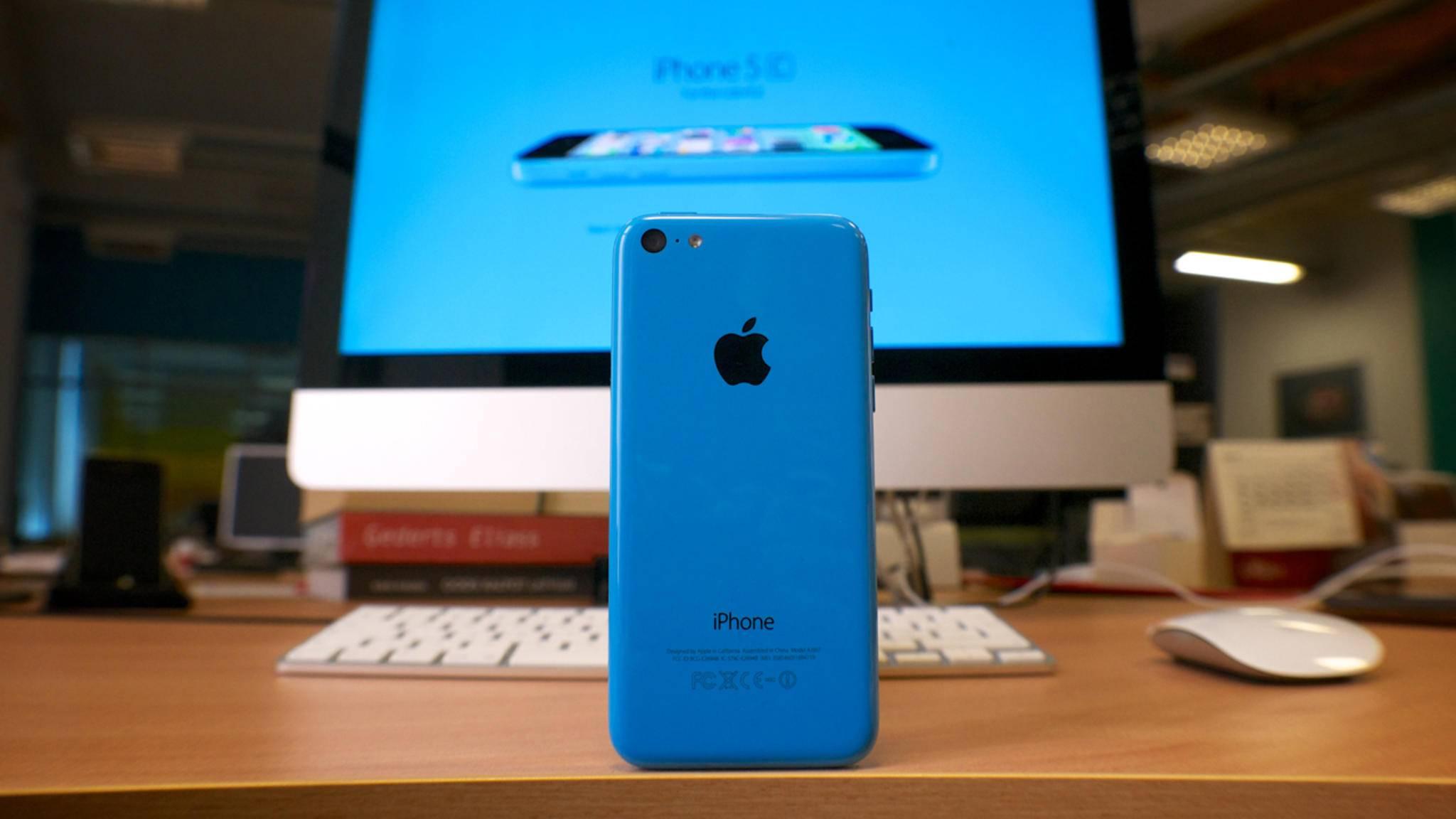 Ein iPhone aus Plastik? Das kam nicht gut an.