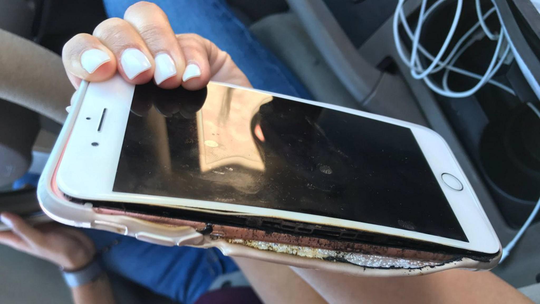 Nicht mehr brandneu: das iPhone 7 Plus von Brianna Olivas.