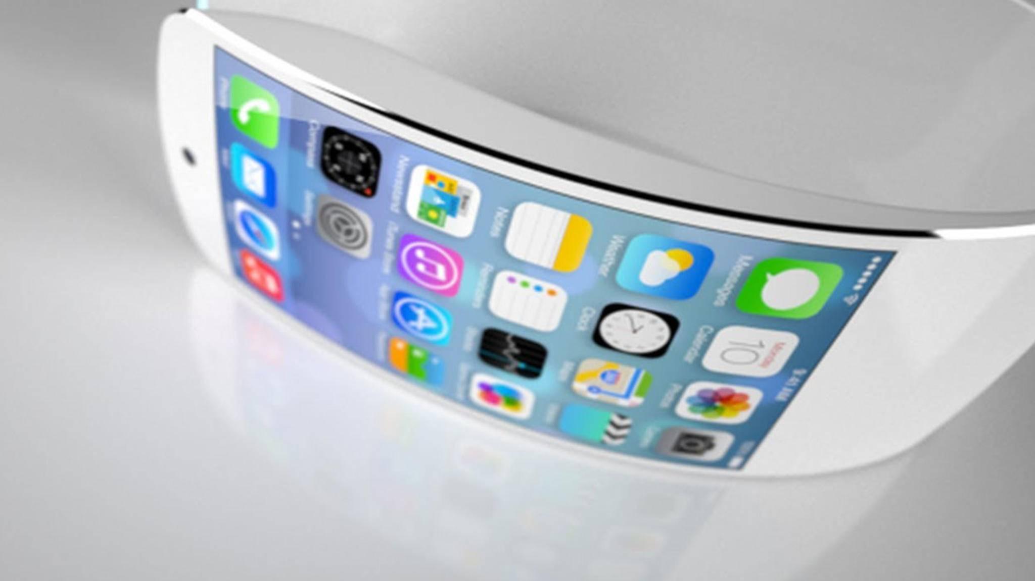 Werden sich iPhone in Zukunft nach Belieben biegen lassen?