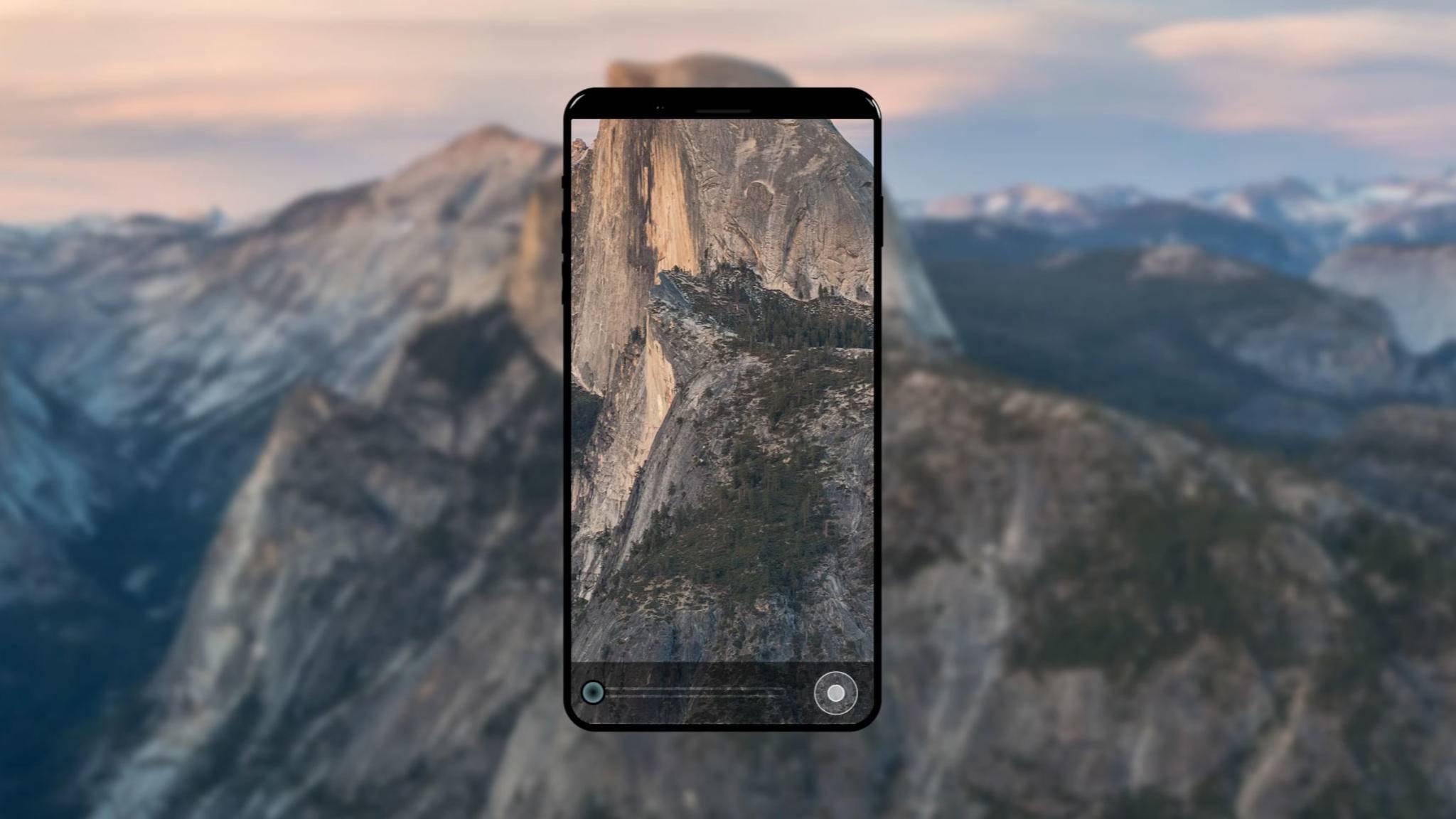 Das iPhone 8 soll angeblich einen Fingerabdruckscanner im Display haben.