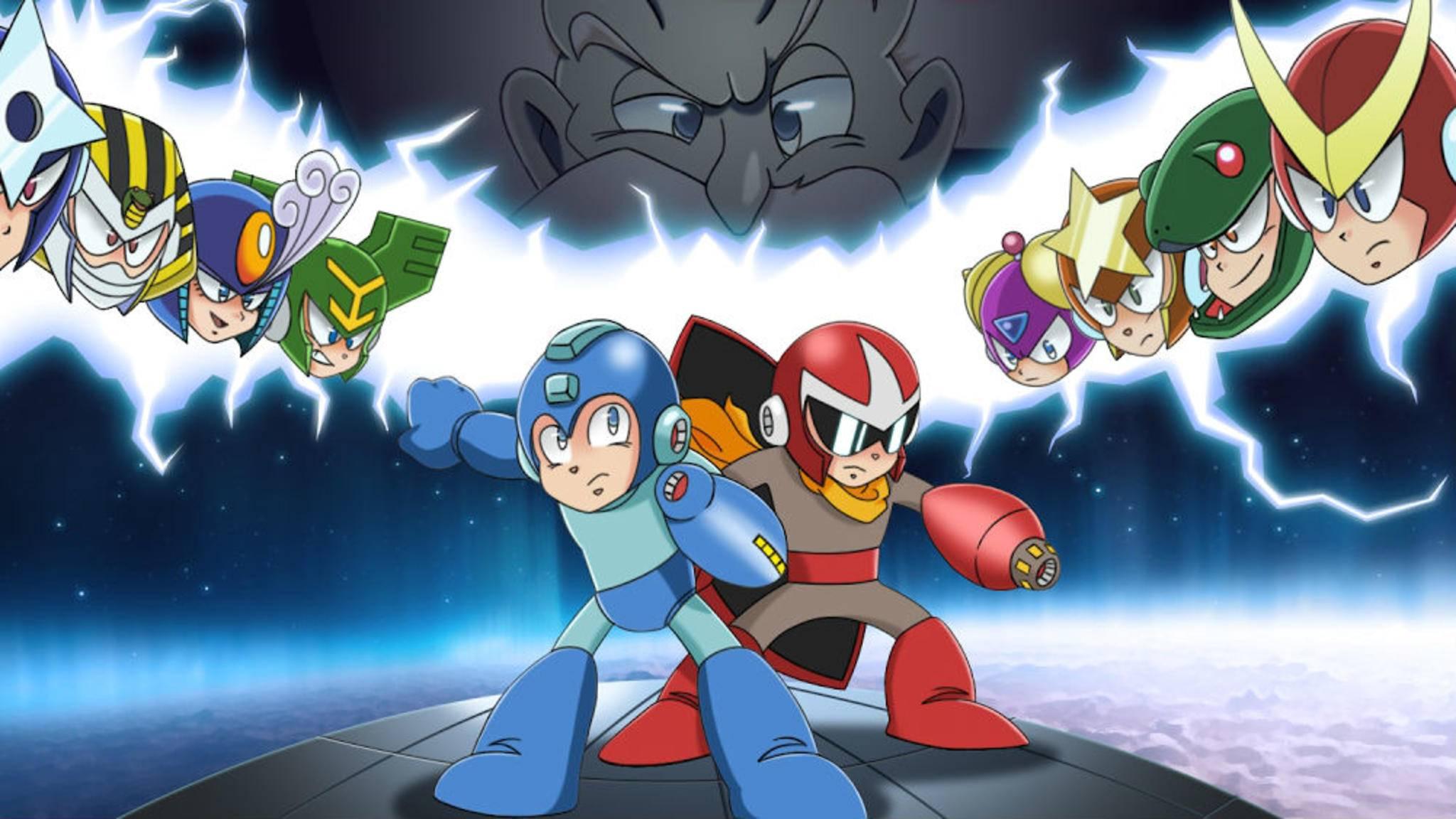 """Auf zu neuen Abenteuern: """"Mega Man 2.5D"""" ist nach acht Jahren Arbeit endlich fertig."""