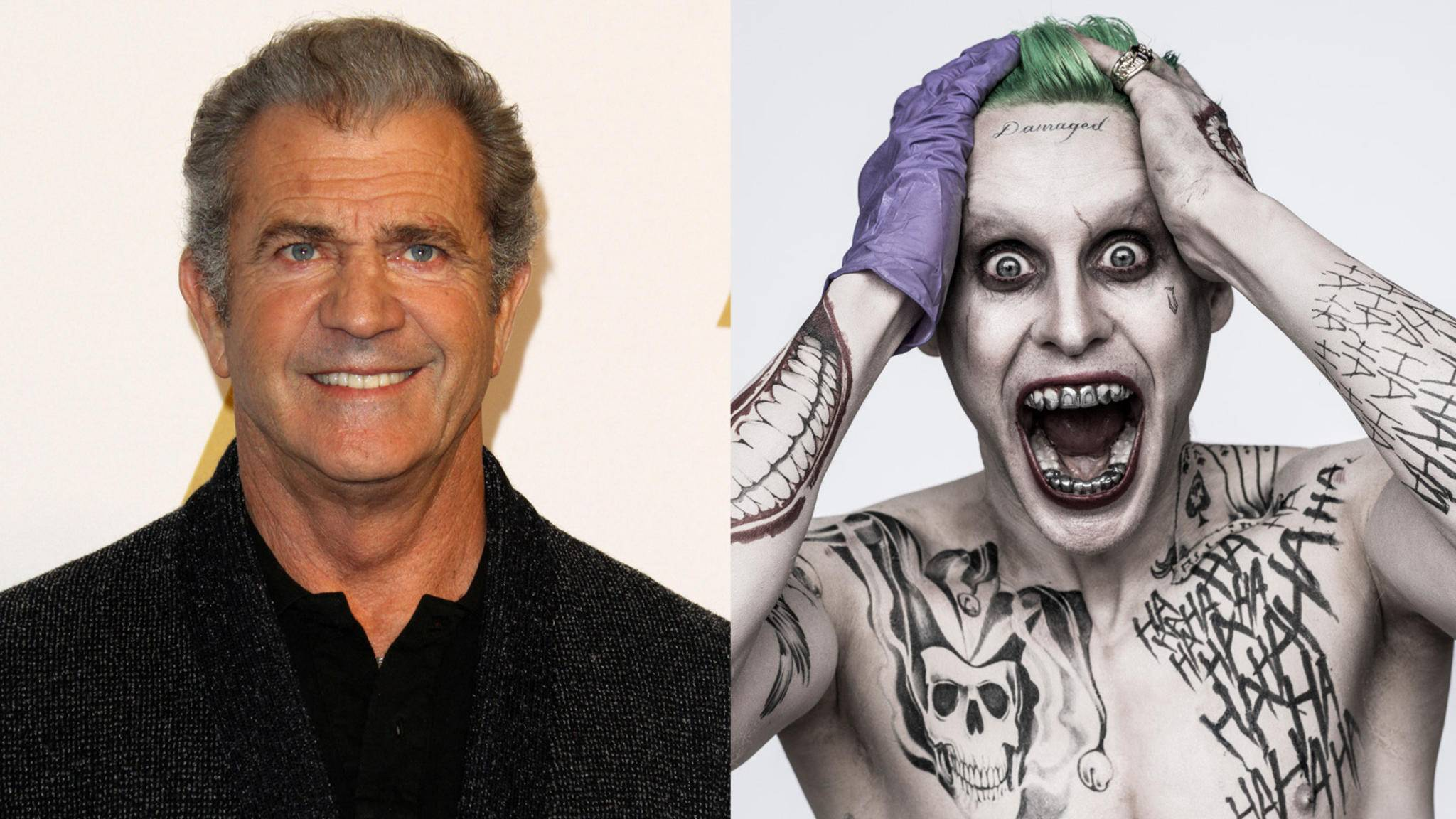 "Nimmt Mel Gibson für ""Suicide Squad 2"" den Joker ins Visier?"