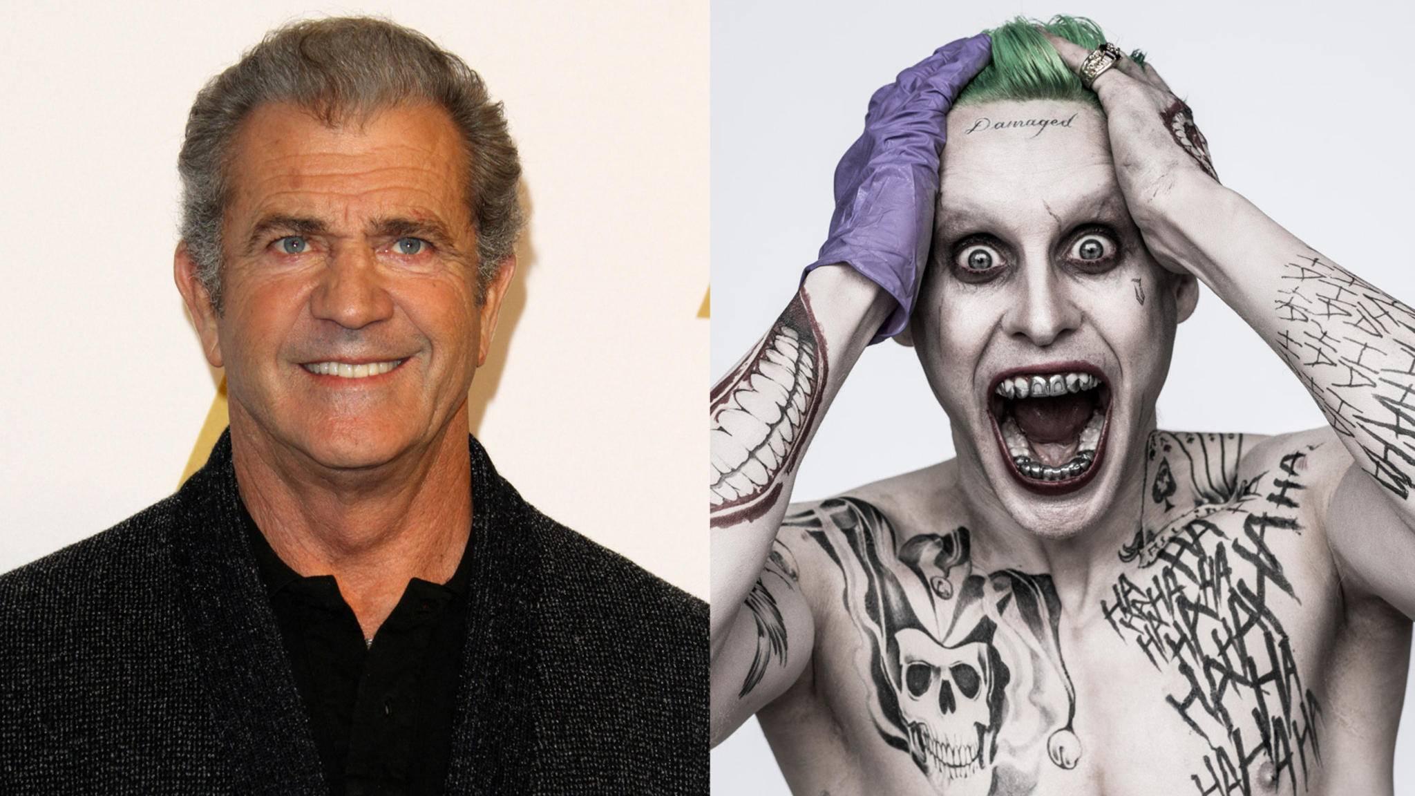 Nimmt Mel Gibson für "Suicide Squad 2" den Joker ins Visier?