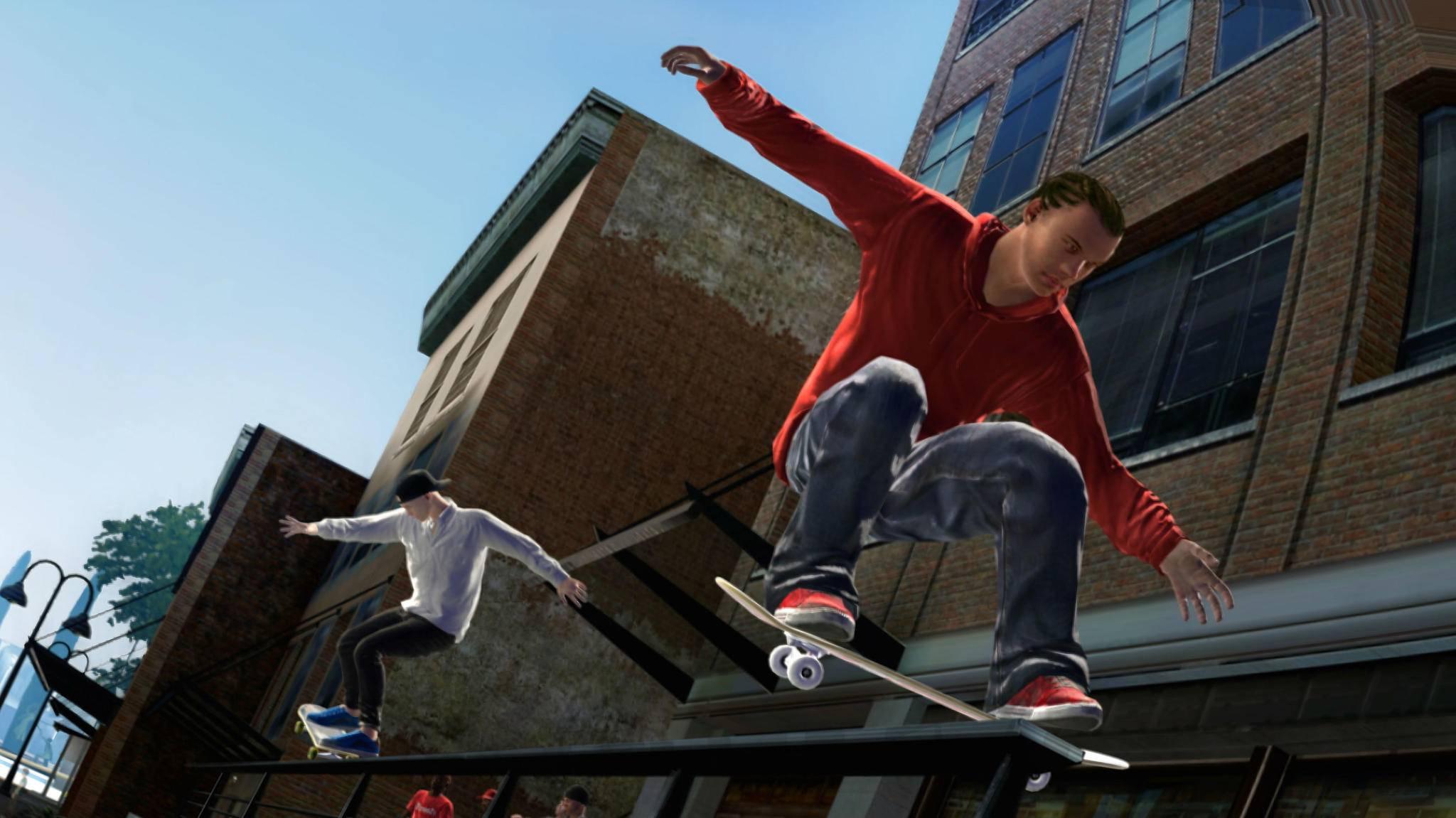 """Nach zehn Jahren wieder aufs Board: So sah """"Skate 3"""" aus."""