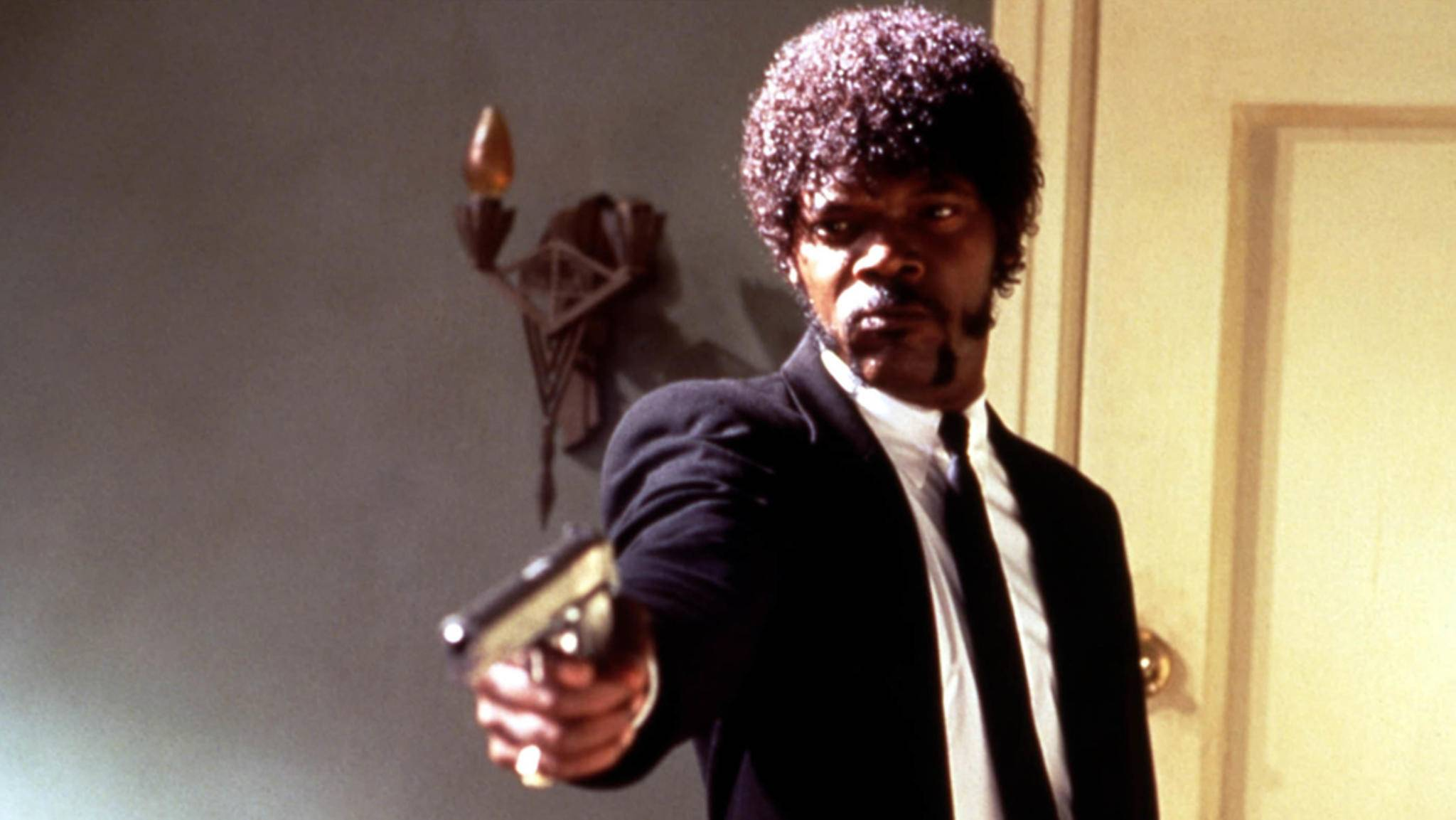 """In """"Pulp Fiction"""" zog Samuel L. Jackson alle Blicke auf sich. Einen Oscar gewann er trotzdem nicht."""