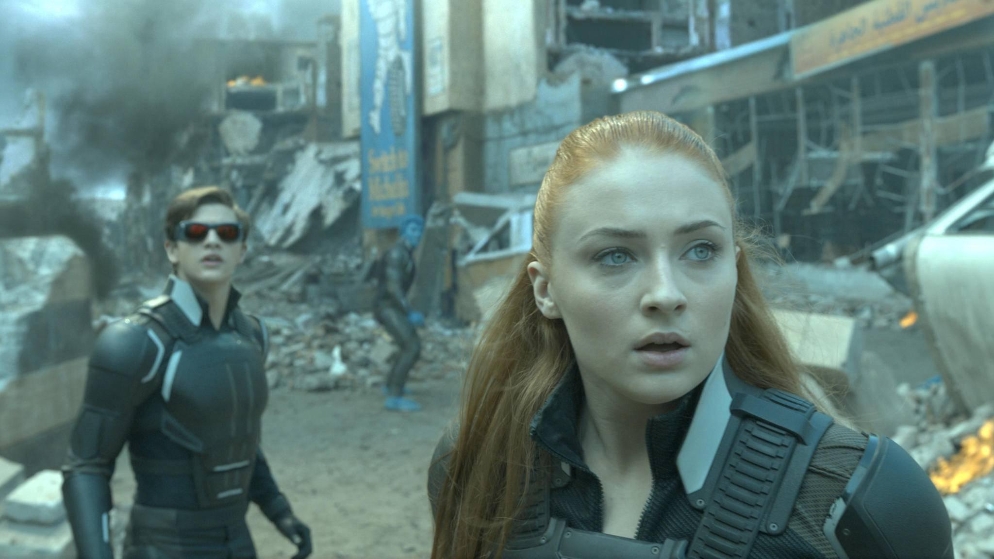 """Jean (vorne) macht im kommenden """"X-Men""""-Film eine düstere Veränderung durch."""