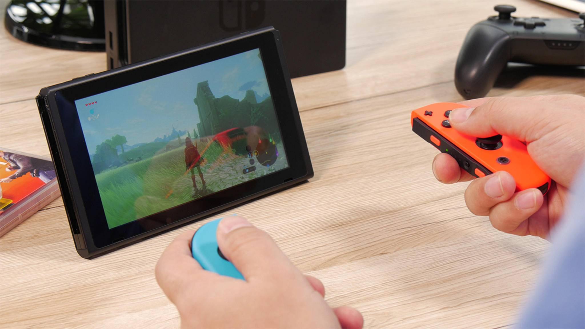 Die Nintendo Switch wird auch zukünftig nichts mit VR oder 4K am Hut haben.