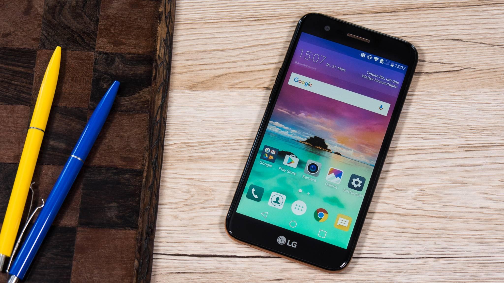 Das LG K10 (2017) musste sich im Test beweisen.