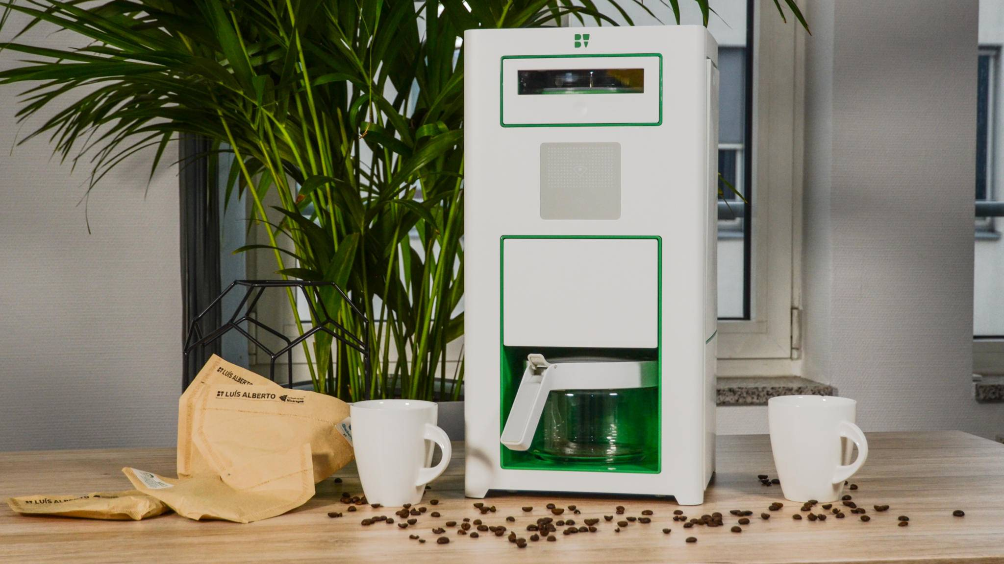 Das Kaffee-Kraftwerk Bonaverde