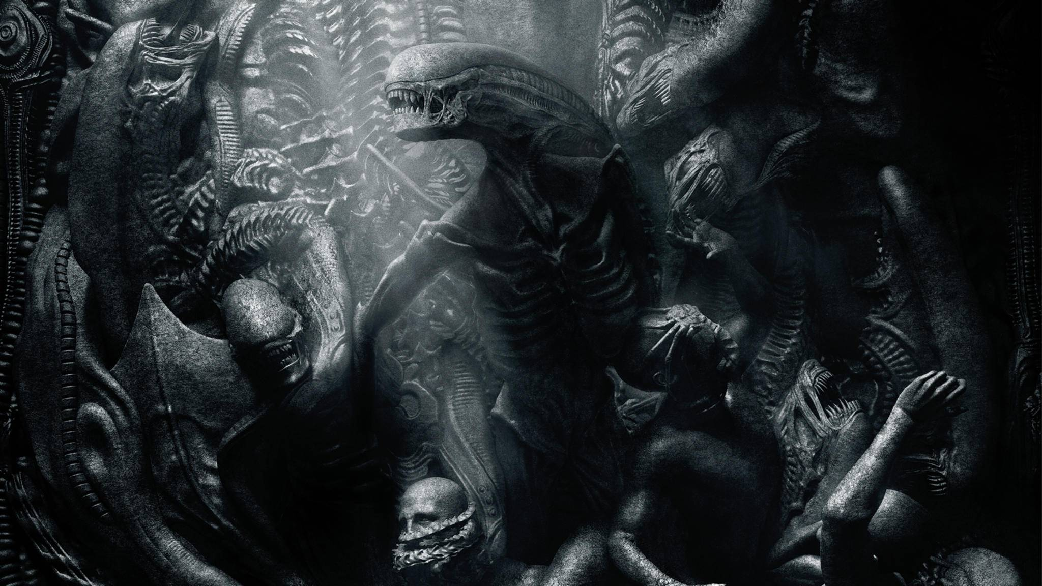 """""""Alien: Covenant"""": Filmplakat mit künstlerischem Wert."""