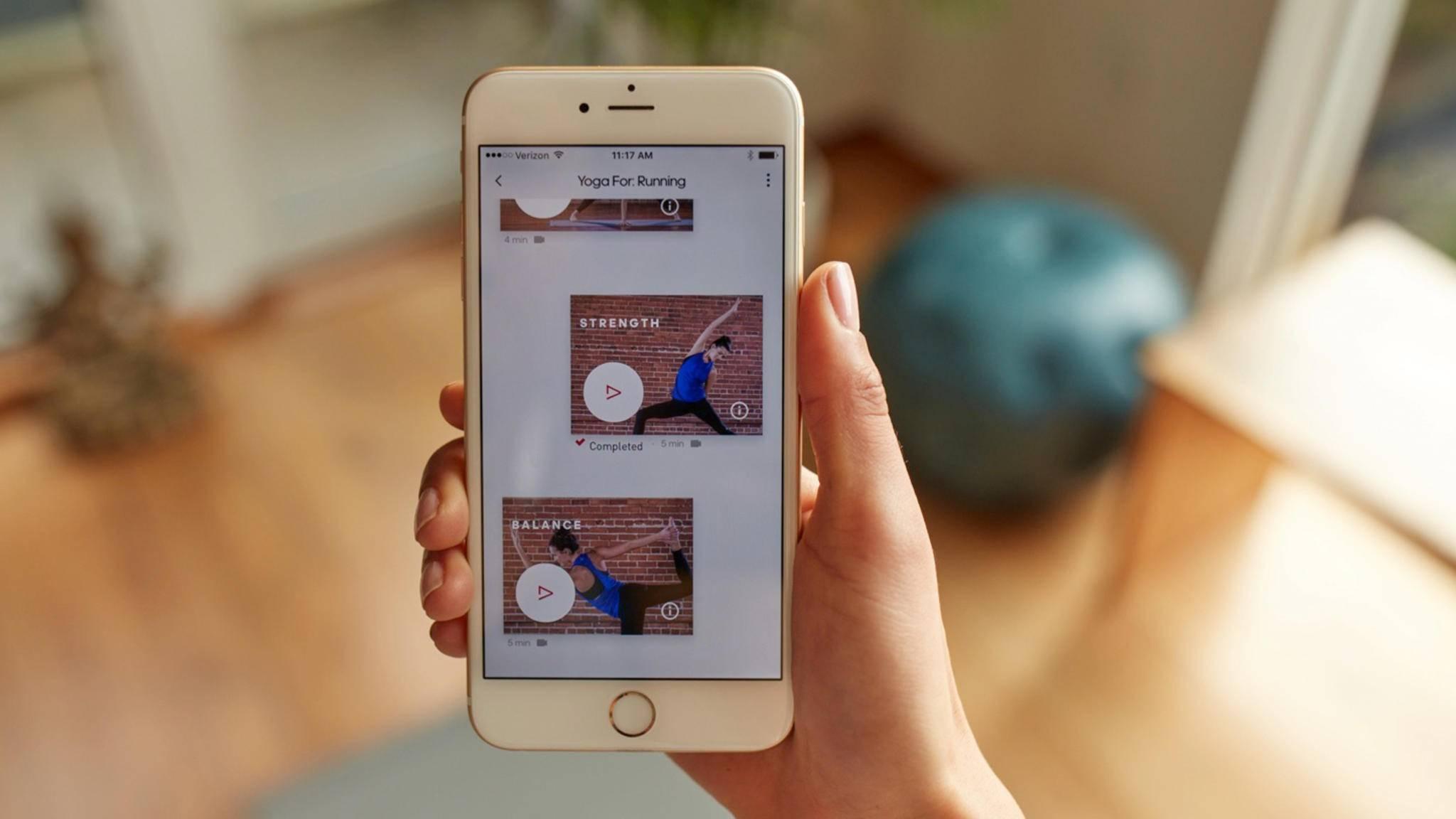 """Die """"All Day""""-App von Adidas soll ein Rundum-sorglos-Gadget für mehr Gesundheit im Alltag sein."""