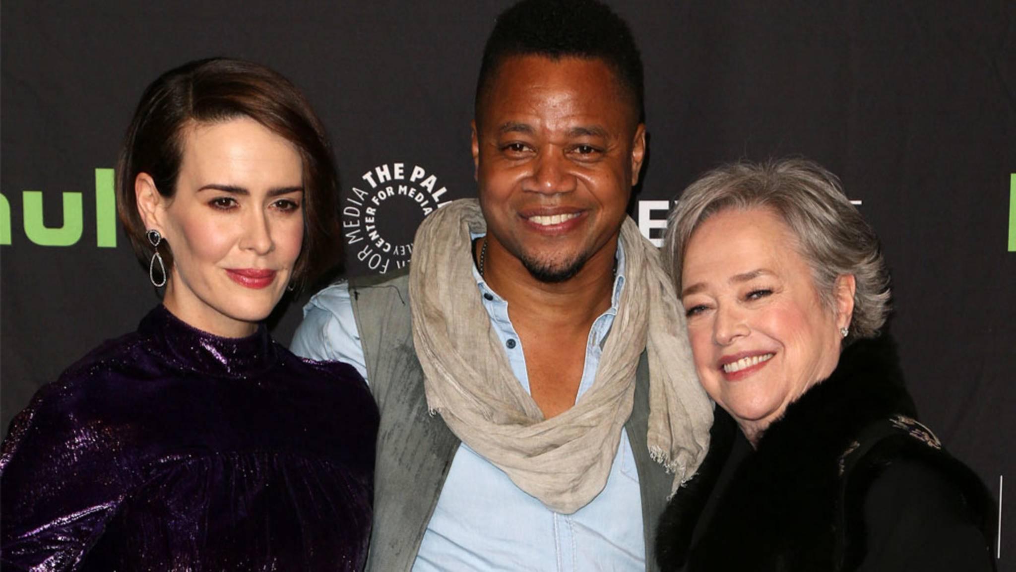 """Beim """"PaleyFest"""" ließen sich die Stars von """"American Horror Story"""" den einen oder anderen Hinweis auf die kommenden Staffeln entlocken."""