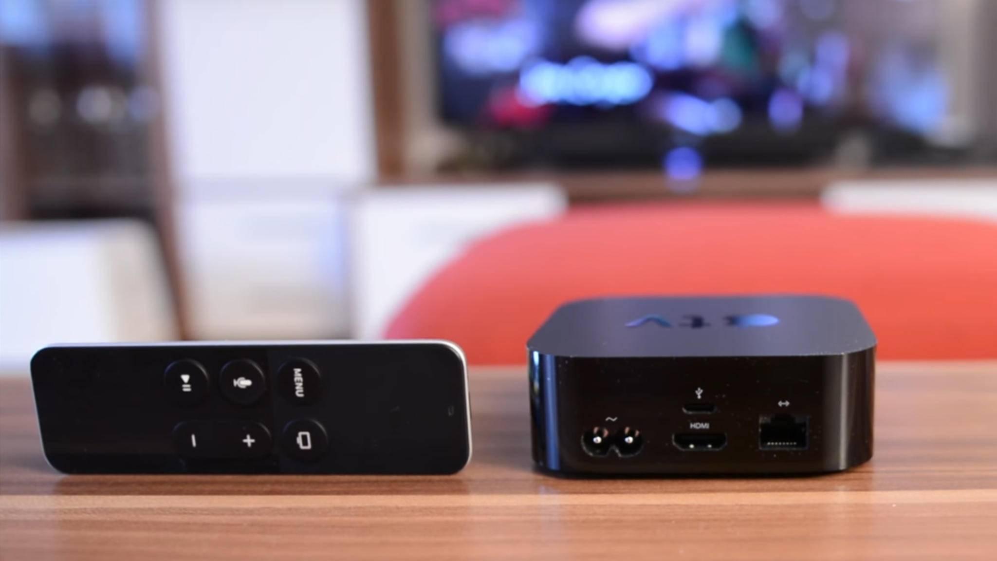 Die Verbindung zwischen Apple TV und einem iPad erfolgt im Handumdrehen.