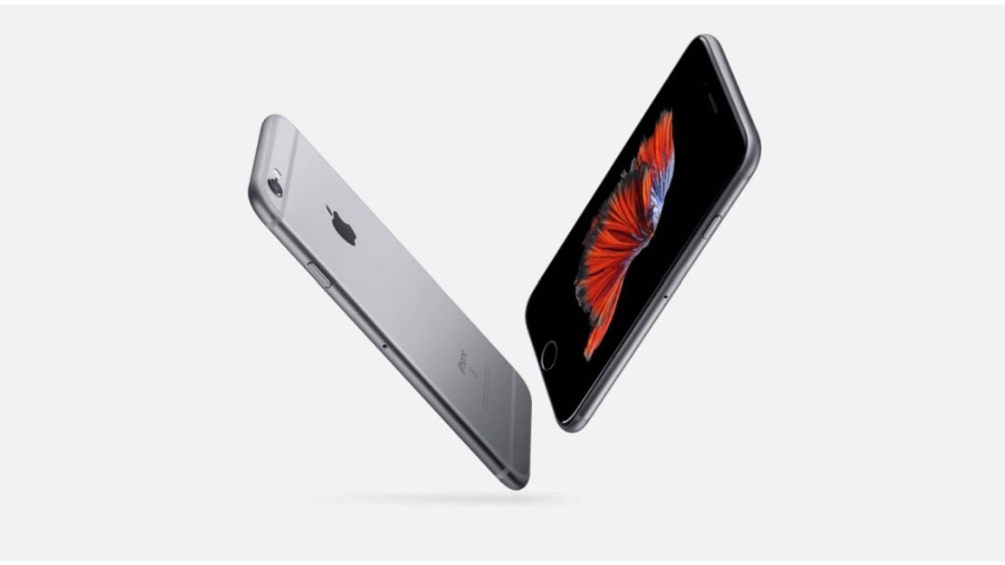 Das iPhone 6s war das im Jahr 2016 am häufigsten ausgelieferte Smartphone.