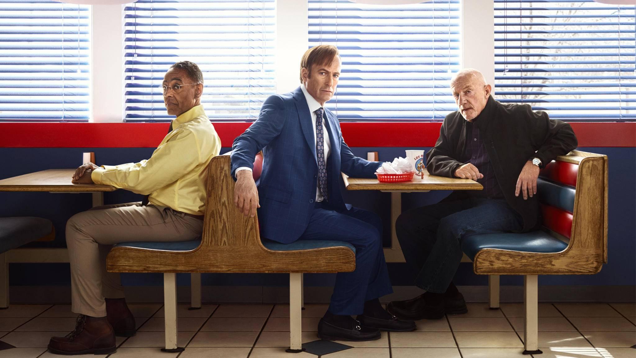 Perfekte Fassade: Gus Fring (Giancarlo Esposito, l.) tarnt sein Drogengeschäft als Fast-Food-Kette.
