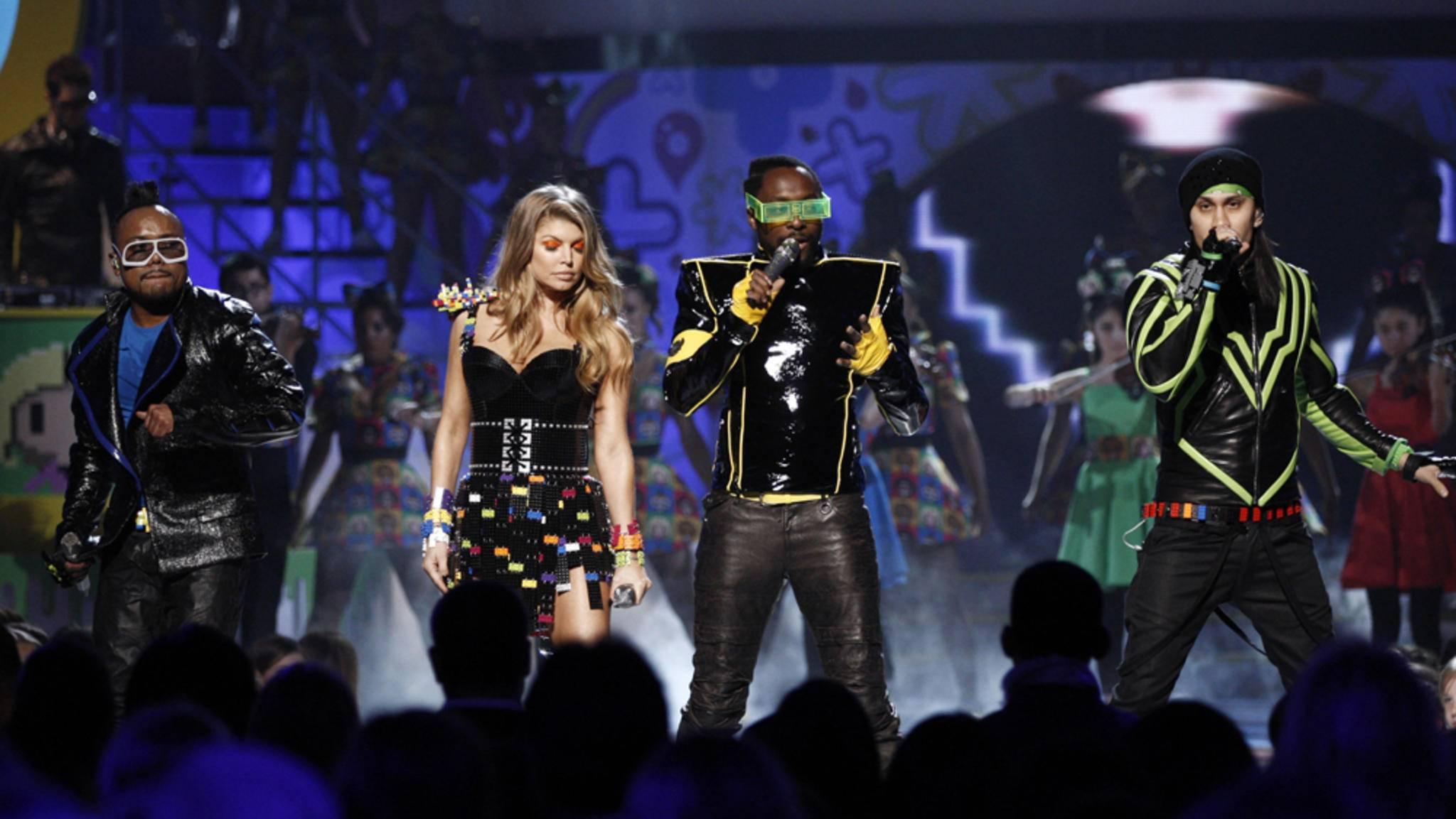 The Black Eyed Peas arbeiten neuerdings mit Marvel zusammen.