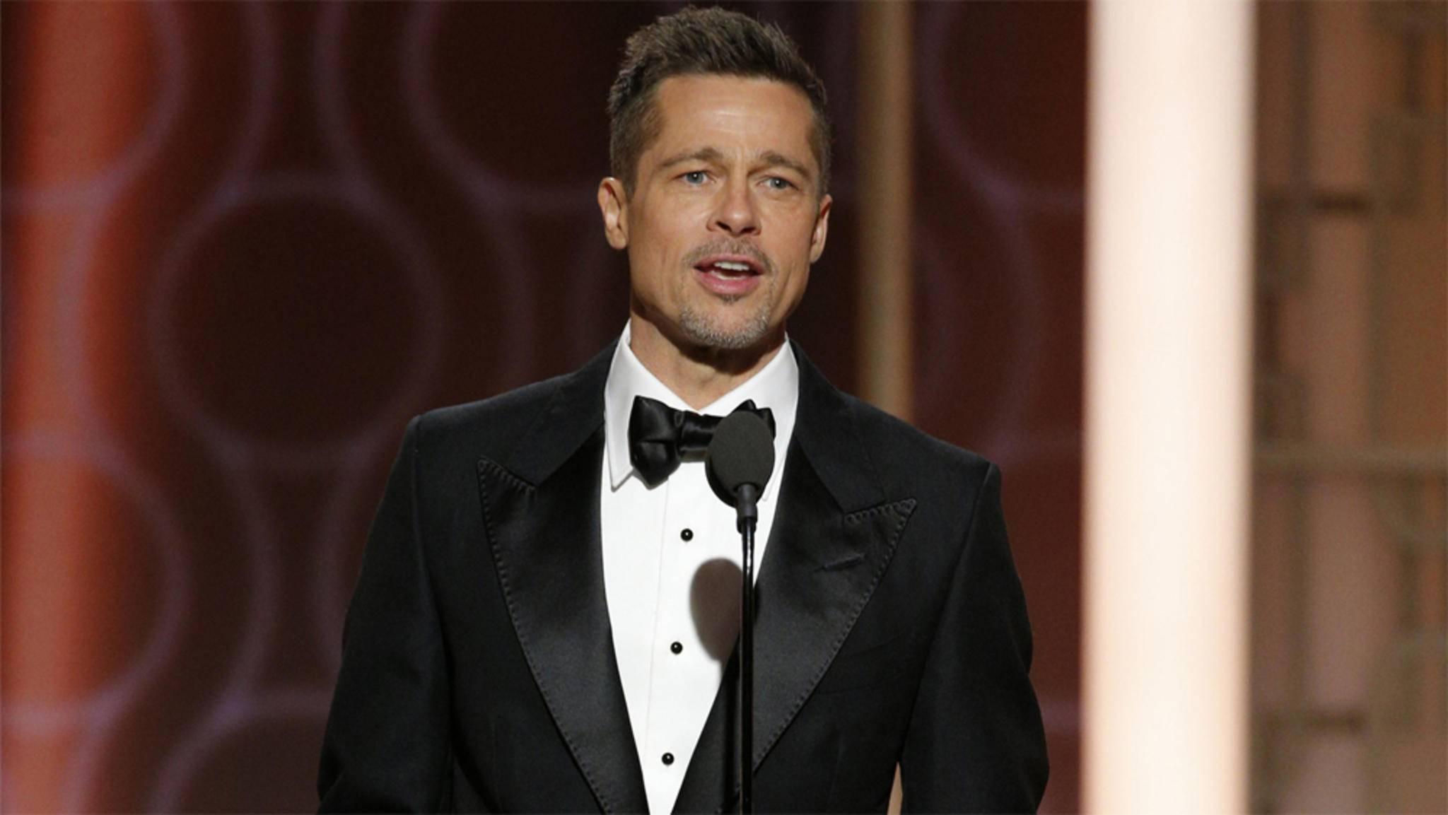 """In """"War Machine"""" darf Brad Pitt so richtig den starken Mann markieren."""