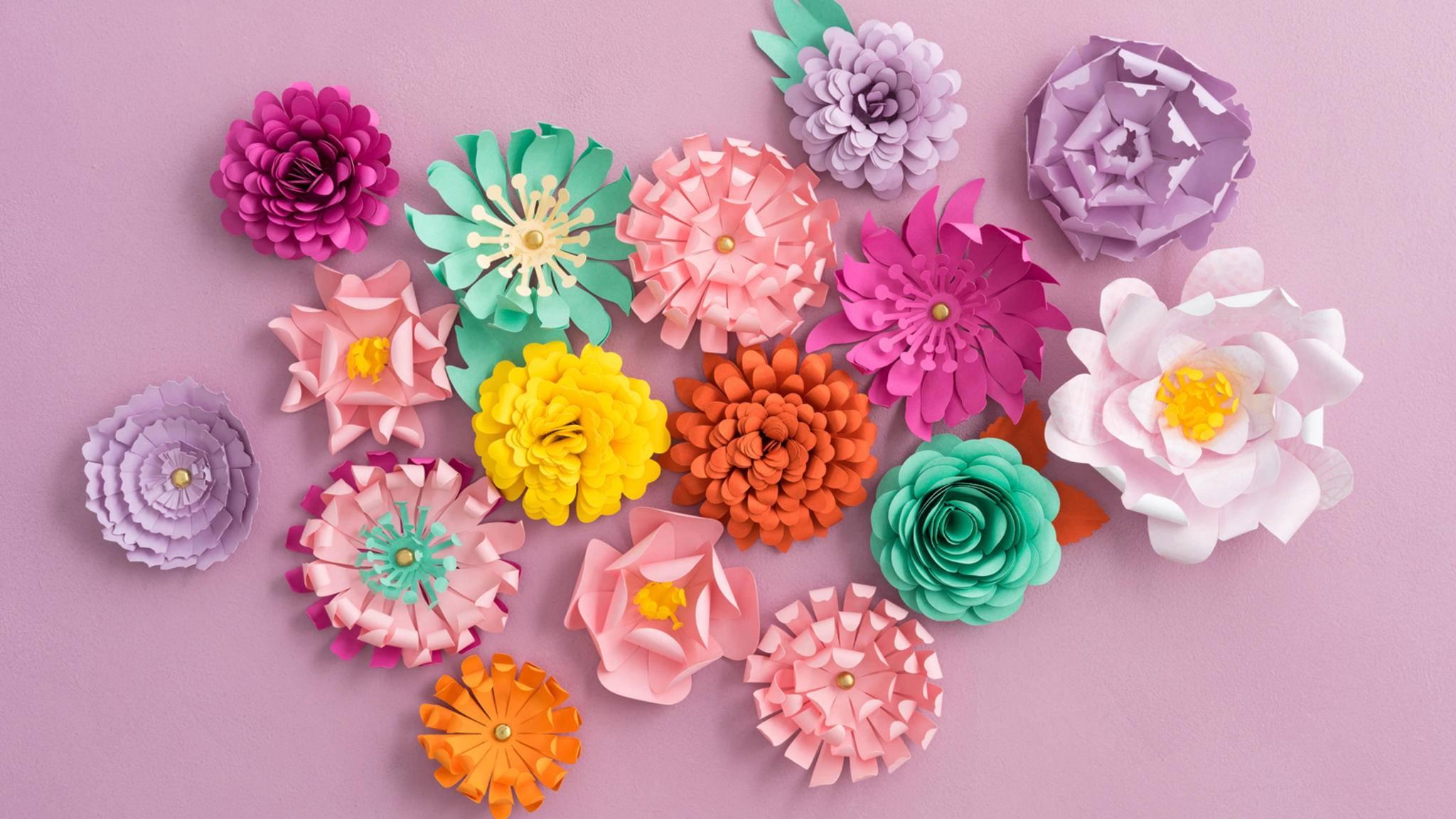 Im Frühling 2017 sind Pastellfarben wieder absolut im Trend und perfekt für alle möglichen DIY-Ideen.