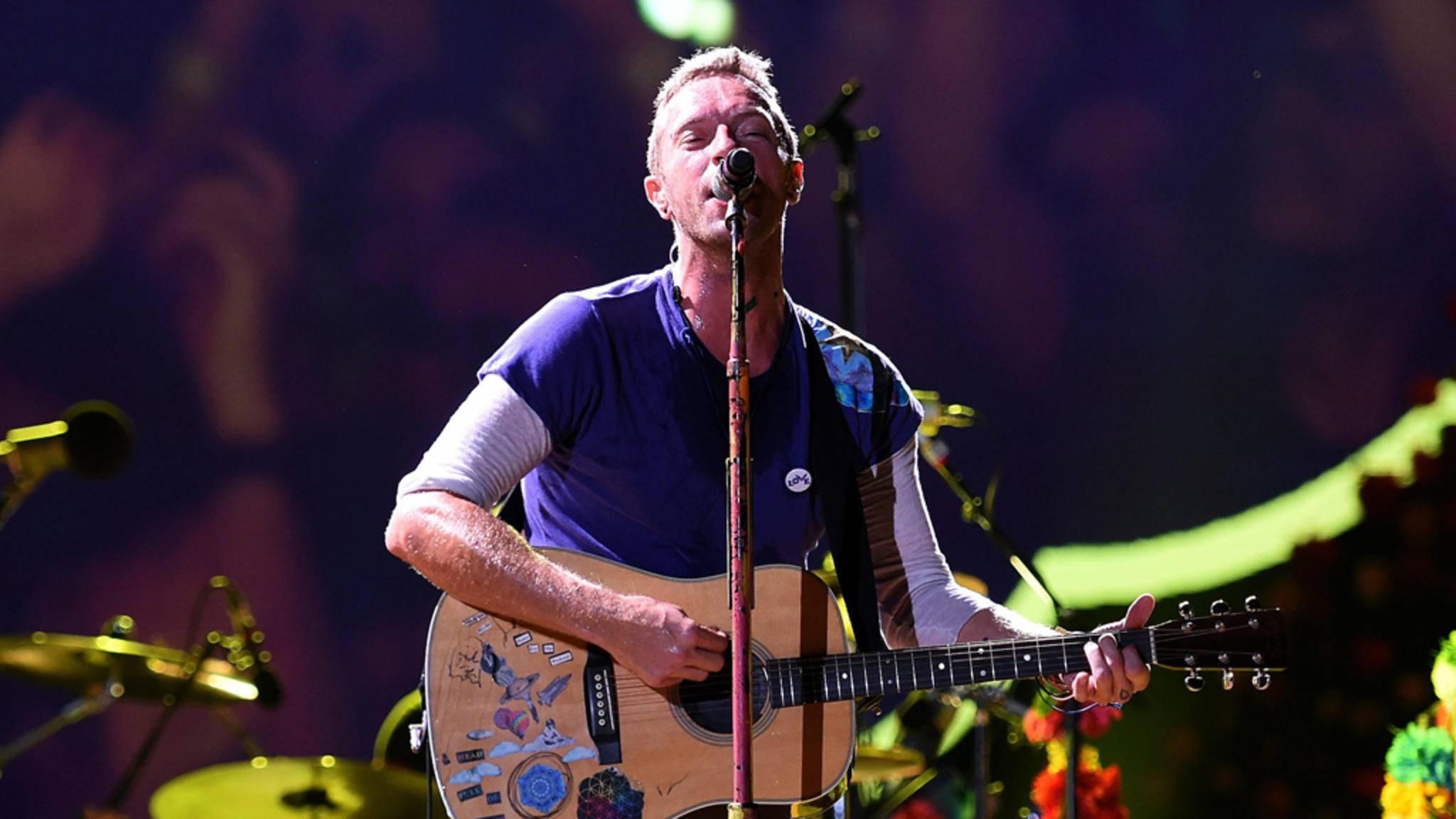 """Coldplay brachten zur Ankündigung vom neuen Album """"Kaleidoscope"""" auch einen neuen Track heraus."""