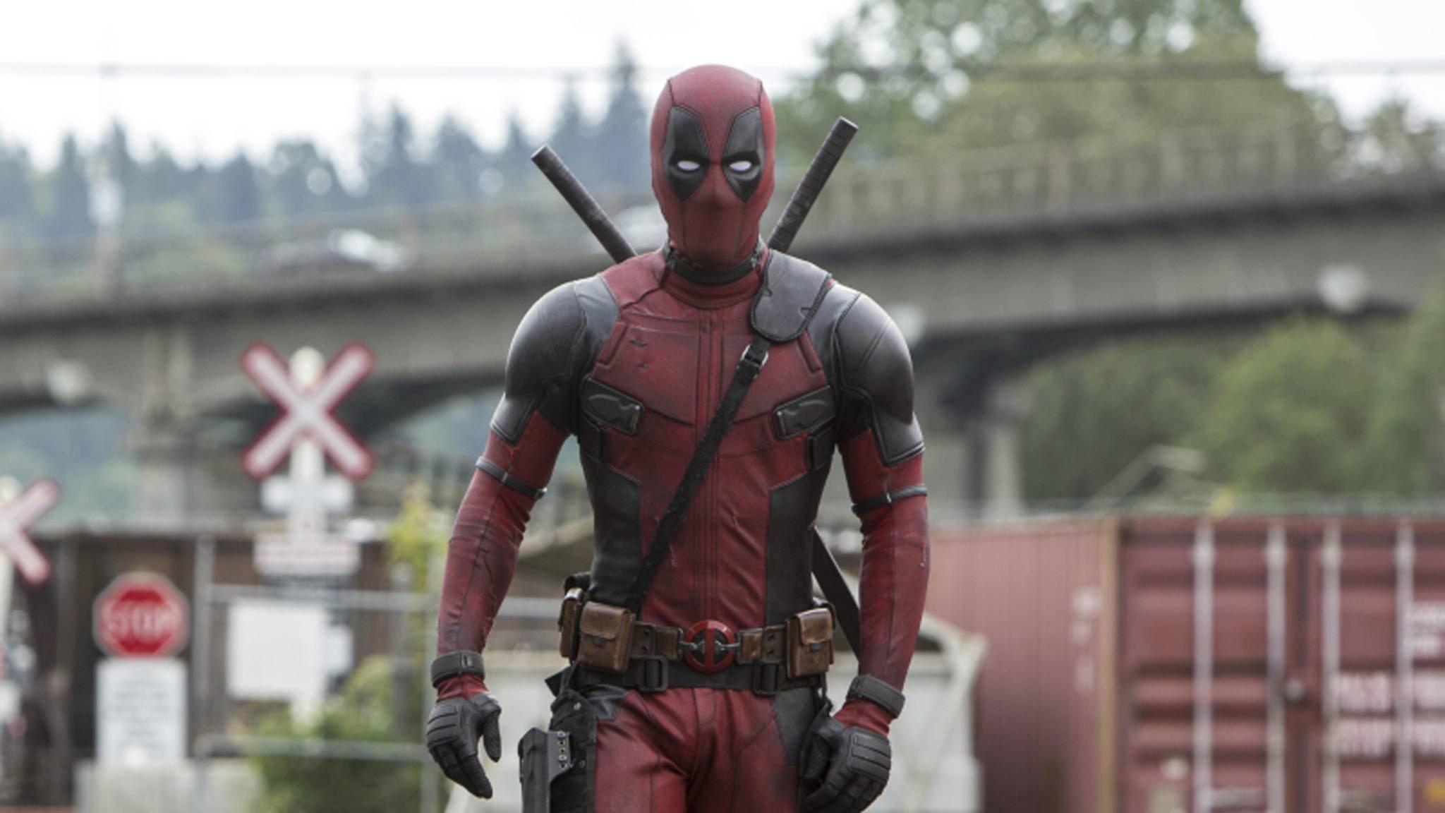 """Schon im Oktober schlüpft Ryan Reynolds erneut in seinen """"Deadpool""""-Anzug."""