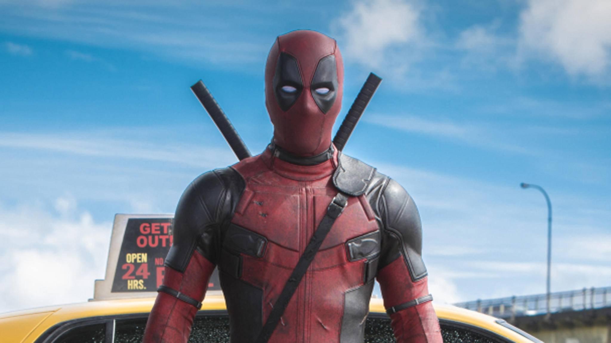 """Der Söldner mit der großen Klappe ist zurück! """"Deadpool 2"""" läuft ab 17. Mai in den deutschen Kinos."""