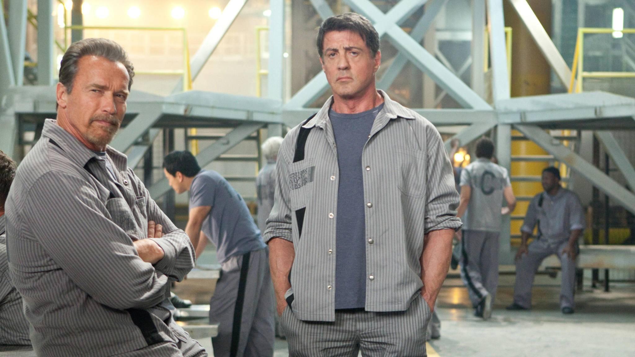 "In ""Escape Plan 3"" wird Sylvester Stallone ohne Kumpel Arnold Schwarzenegger auskommen müssen."