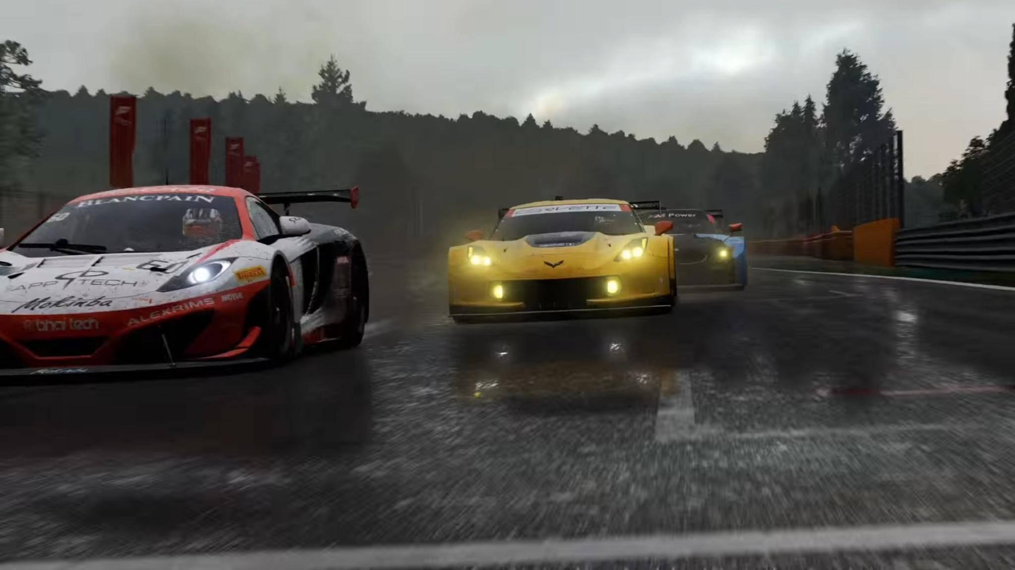 """Mit dem Rennspiel """"Forza Motorsport 6"""" demonstrierte Microsoft das Können seiner neuen Konsole Xbox Scorpio."""