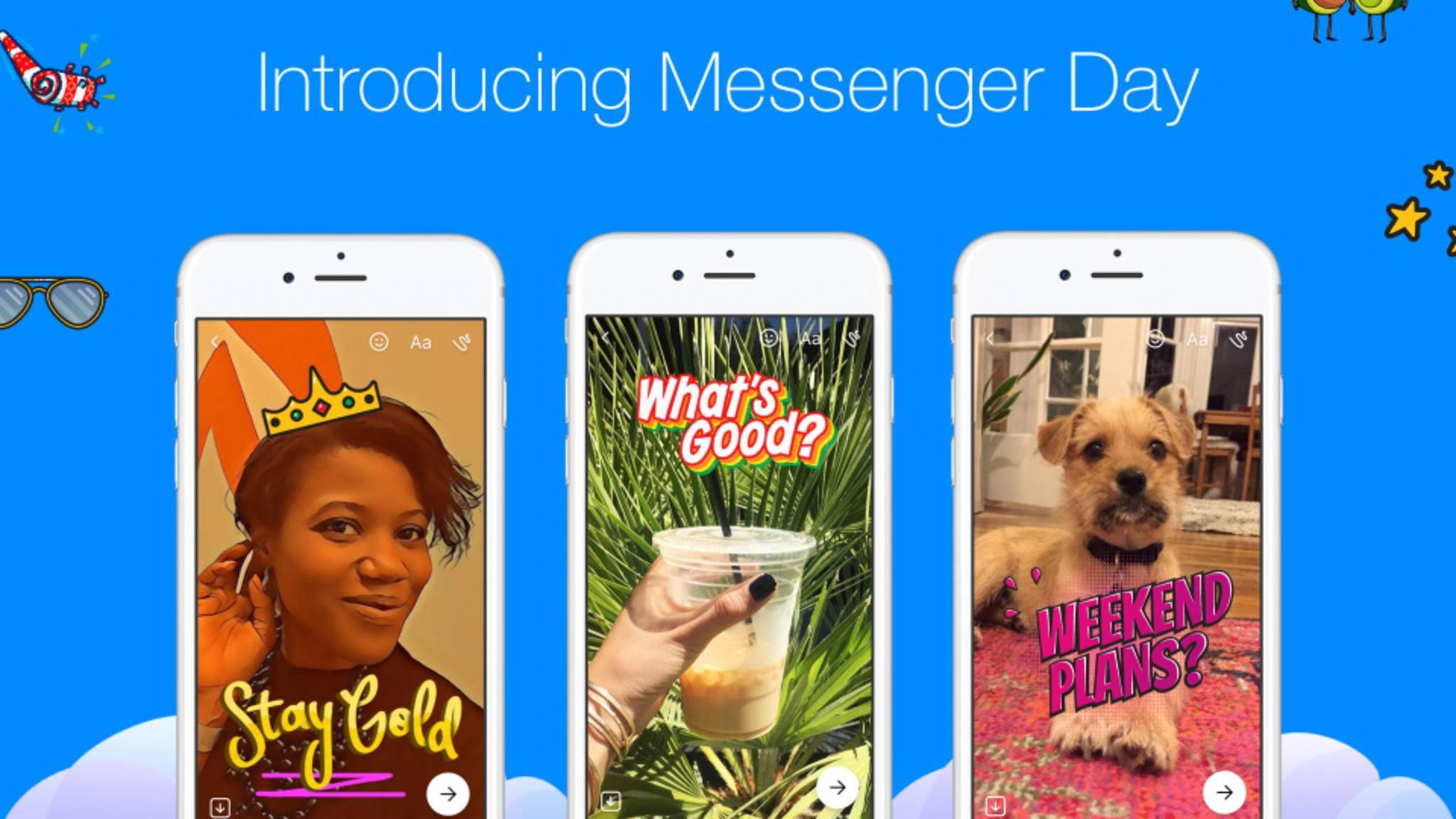 Ein knallbunter Status gehört zum guten Ton – ab sofort auch beim Facebook Messenger.