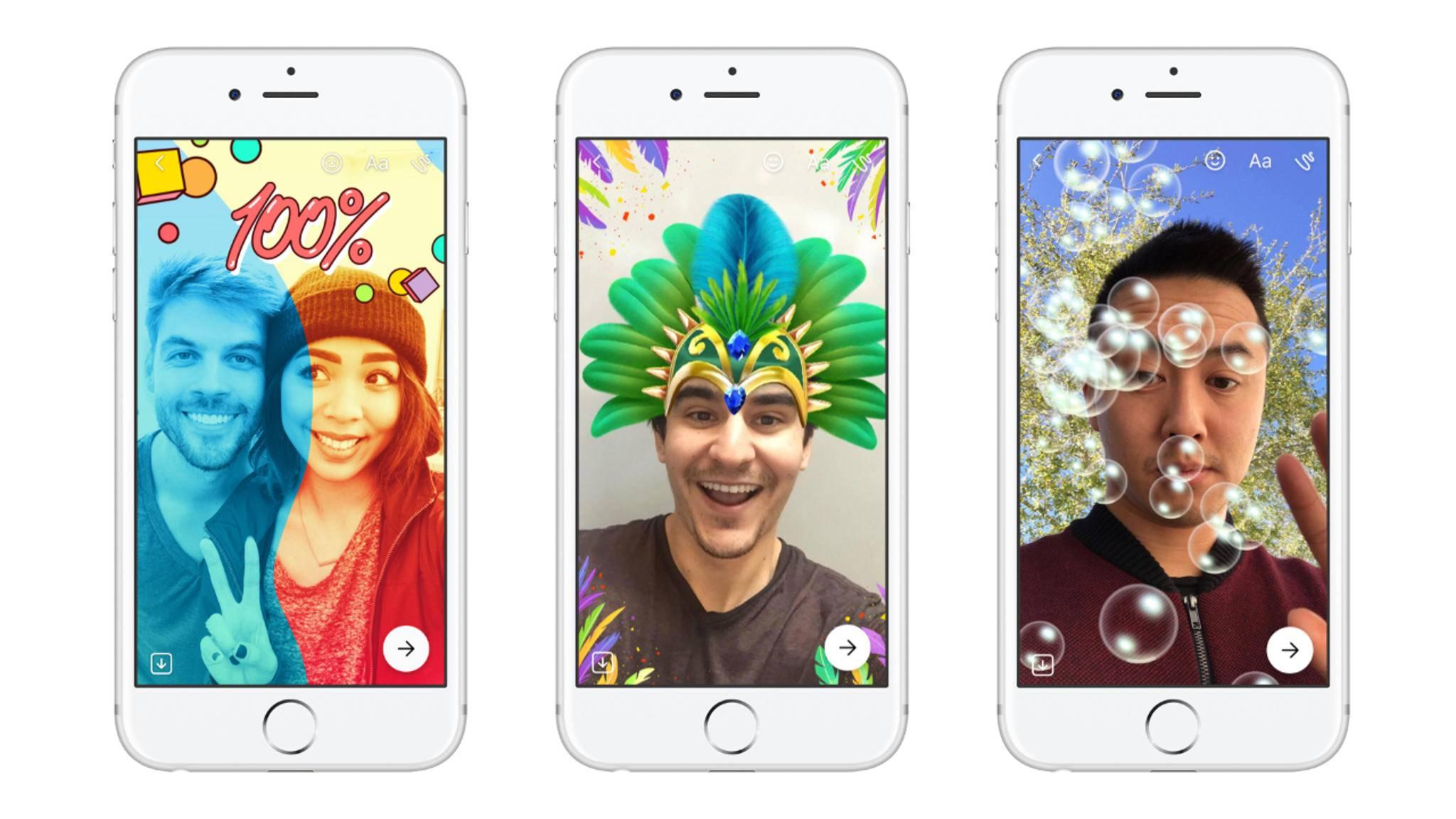 Der neue Day-Status im Facebook Messenger funktioniert so ähnlich wie bei Snapchat.