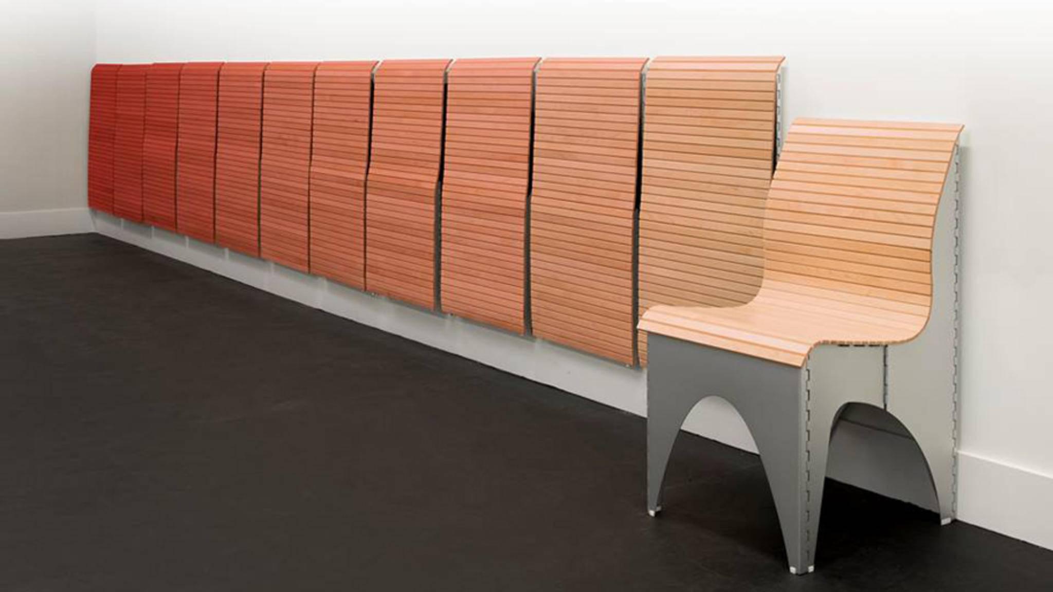 Ollie Chair: Dieser kinetische Stuhl verändert seine Gestalt