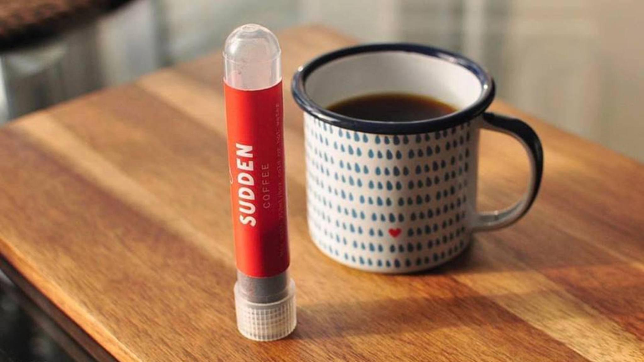 Sudden Coffee macht Instant-Kaffee wieder cool.
