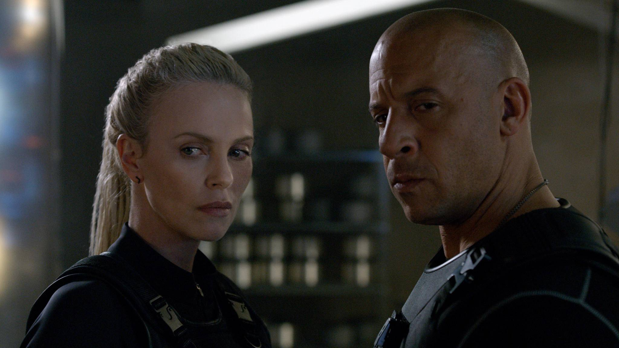 Fast and Furious 8 vin diesel charlize theron