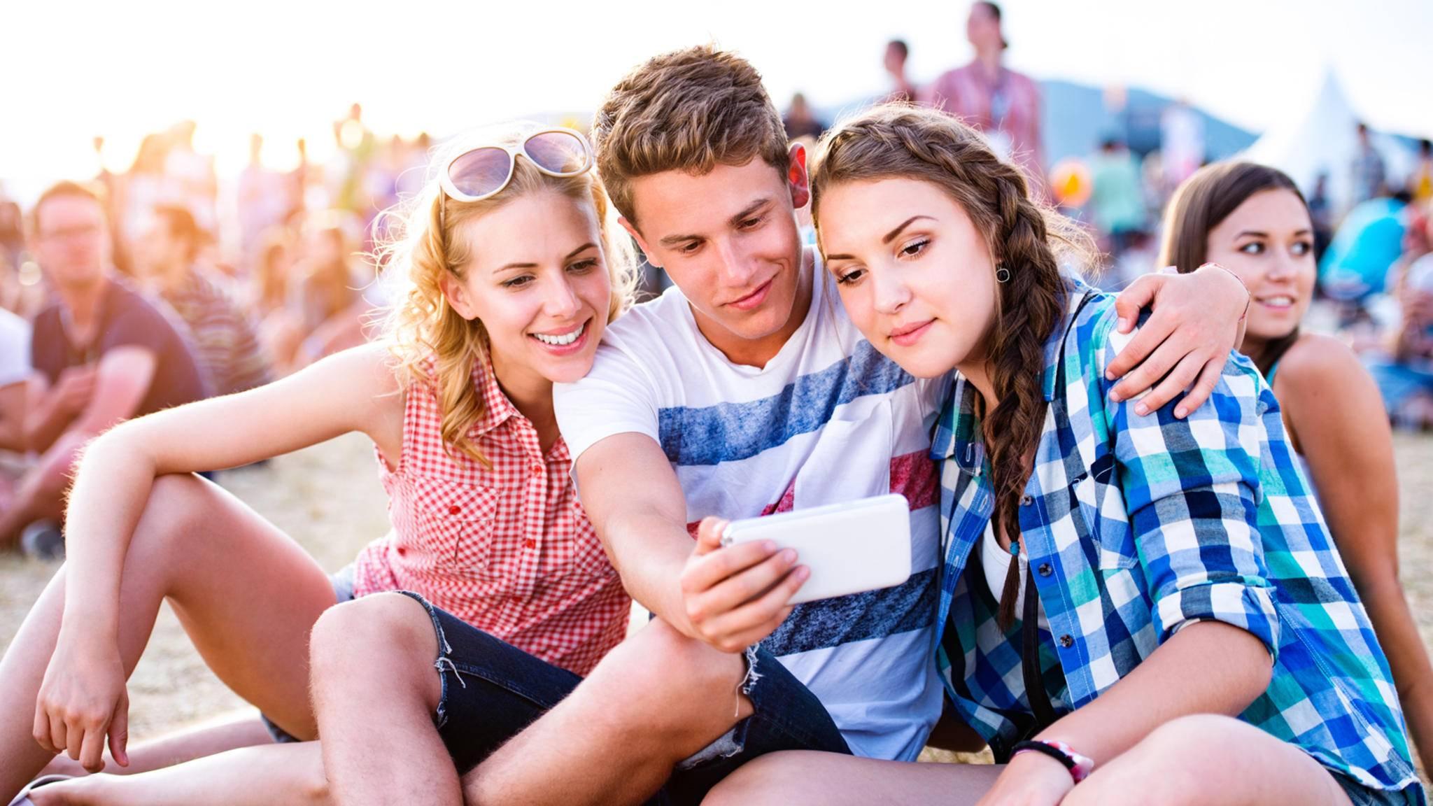 Mit den richtigen Apps macht ein Festival noch mehr Spaß.