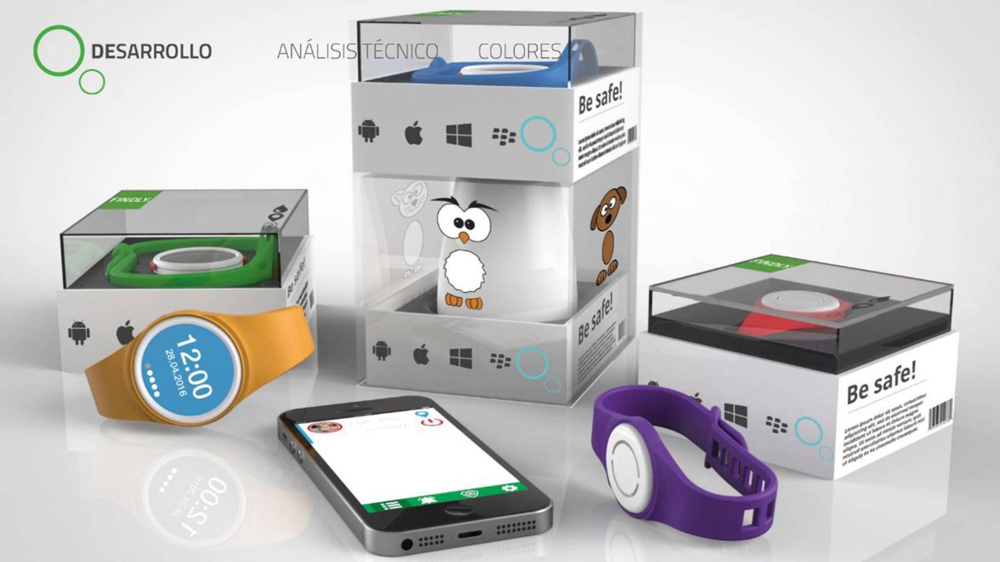 """Smartwatch """"Findly"""" soll für mehr Sicherheit bei kleinen Kindern sorgen."""