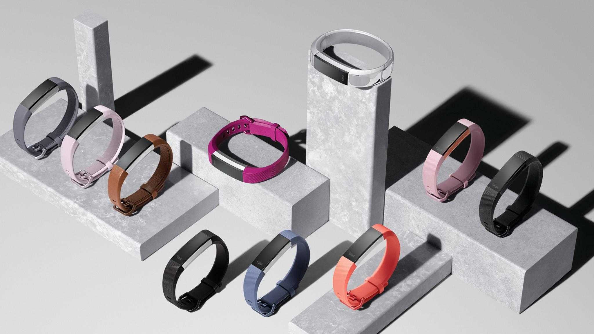 Die Fitness-Tracker-Familie wird um den Fitbit Alta HR erweitert.