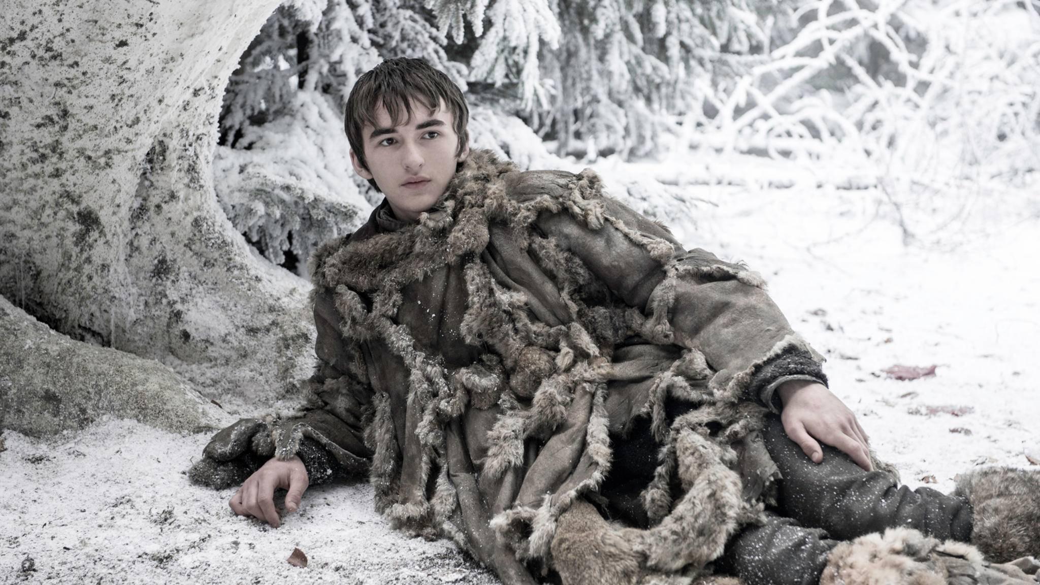 Bran Stark und seiner Begleitung macht der Winter in Westeros besonders zu schaffen.