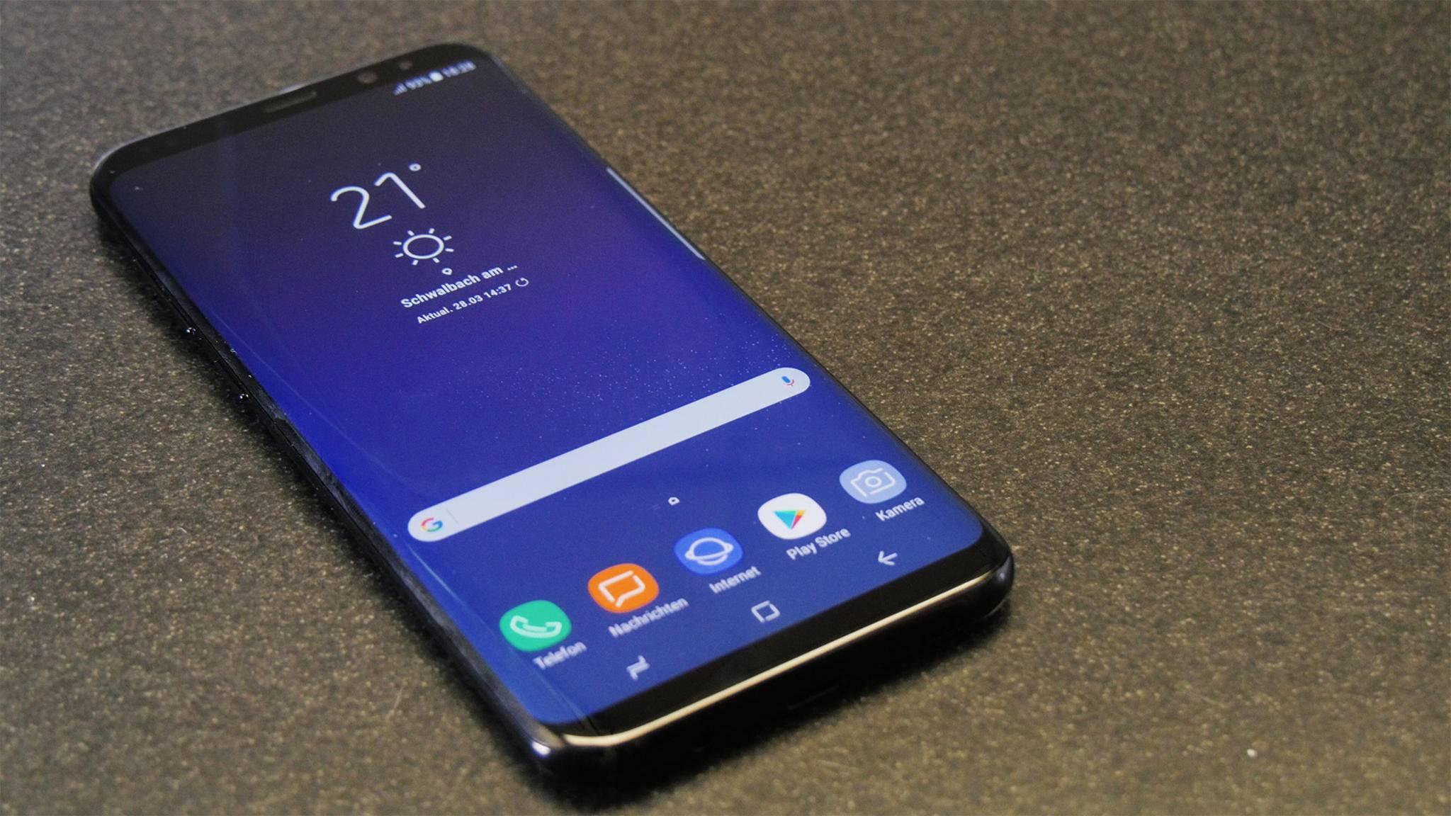 Das Galaxy S8 scheint schon vor dem Release ein Erfolg zu sein.