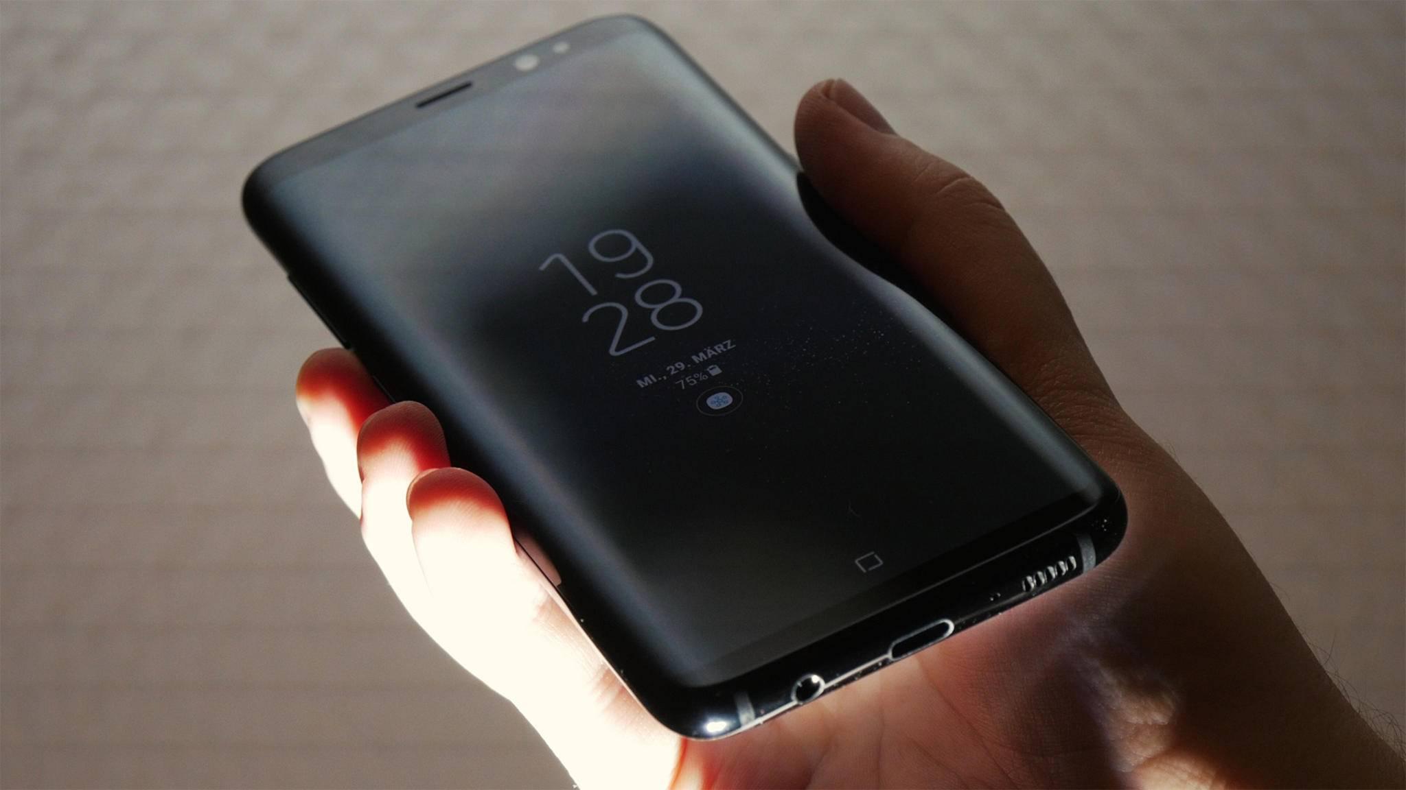 Das Samsung Galaxy S8: Vor allem auf der Rückseite wurden kurz vor dem Release noch wichtige Dinge geändert.
